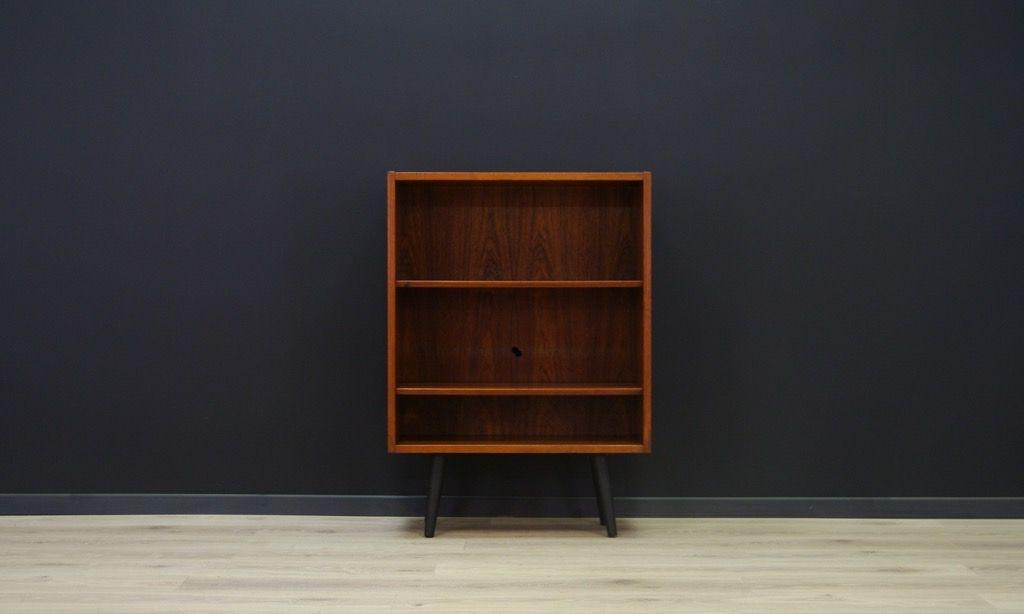 skandinavischer mid century teak schrank mit regalb den bei pamono kaufen. Black Bedroom Furniture Sets. Home Design Ideas