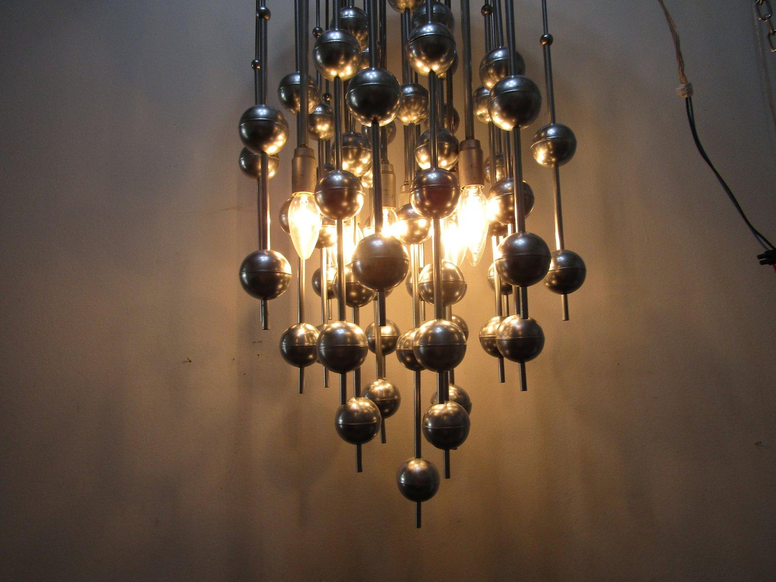 Lampadario Con Sfere Di Cristallo.Lampadari Con Bolle Di Vetro Acquista Lampadari In Stile Moderno
