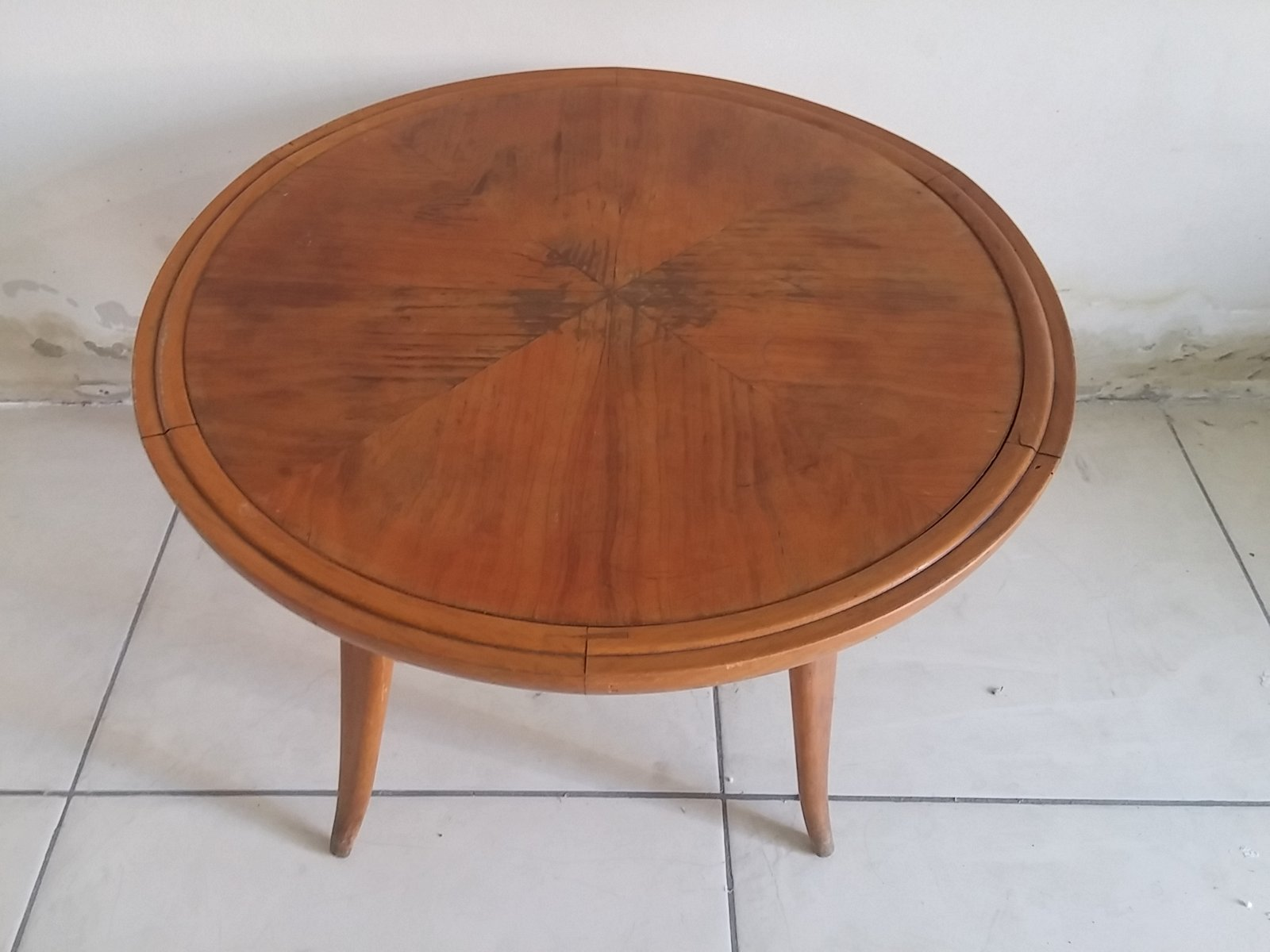 Cherry Wood Coffee Table 1950s For Sale At Pamono