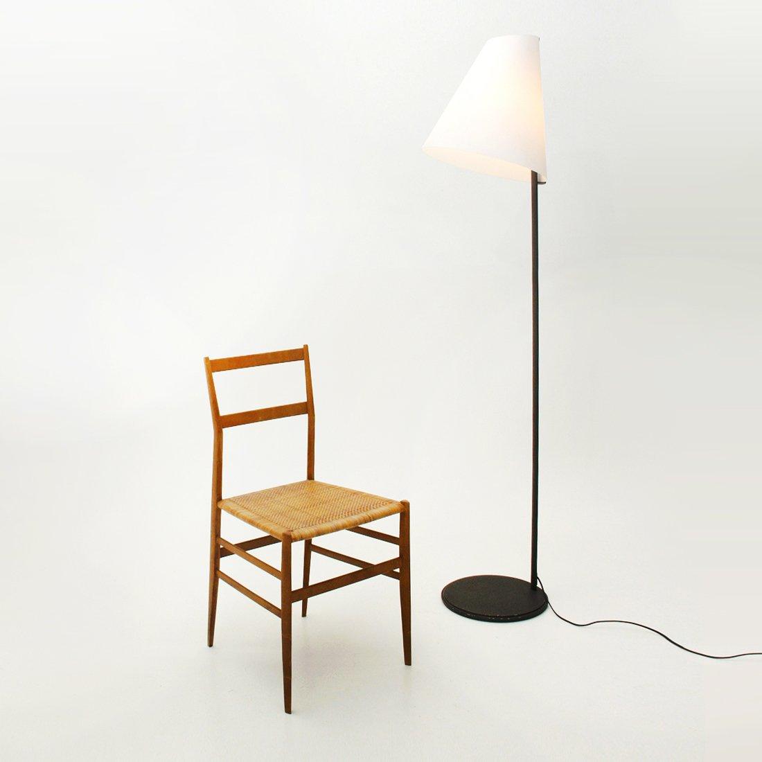 micene stehlampe mit opalglas schirm von leucos 1990er. Black Bedroom Furniture Sets. Home Design Ideas