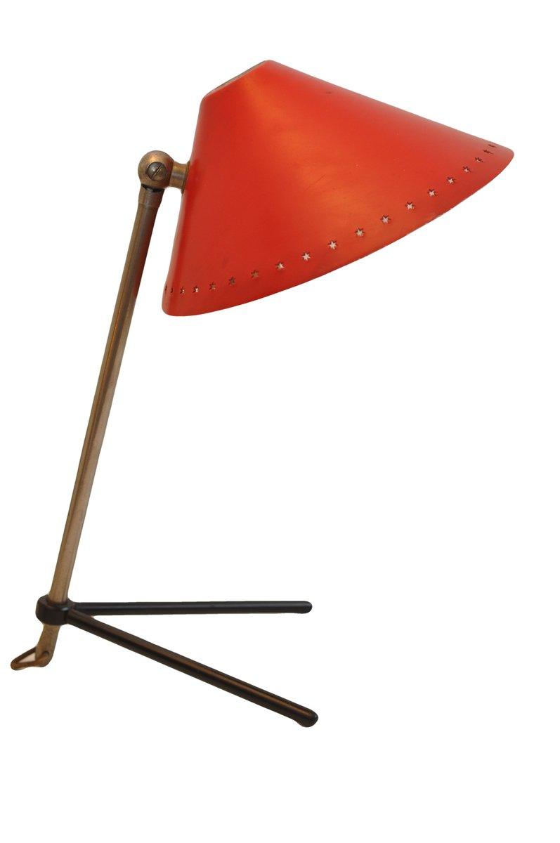 Pinocchio Tisch- or Wandlampe von H. Th. J. A. Busquet für Hala, 1950e...