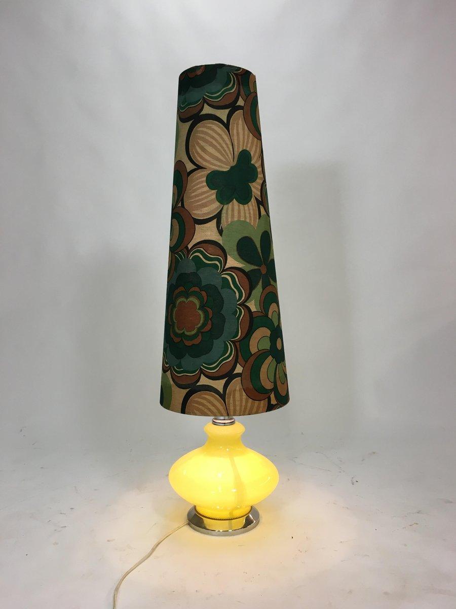 vintage murano glas stehlampe mit 2 gl hbirnen 1970er bei. Black Bedroom Furniture Sets. Home Design Ideas
