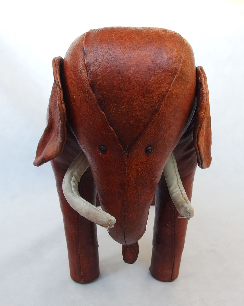 Vintage Elephant Foot Stool By Dimitri Omersa For