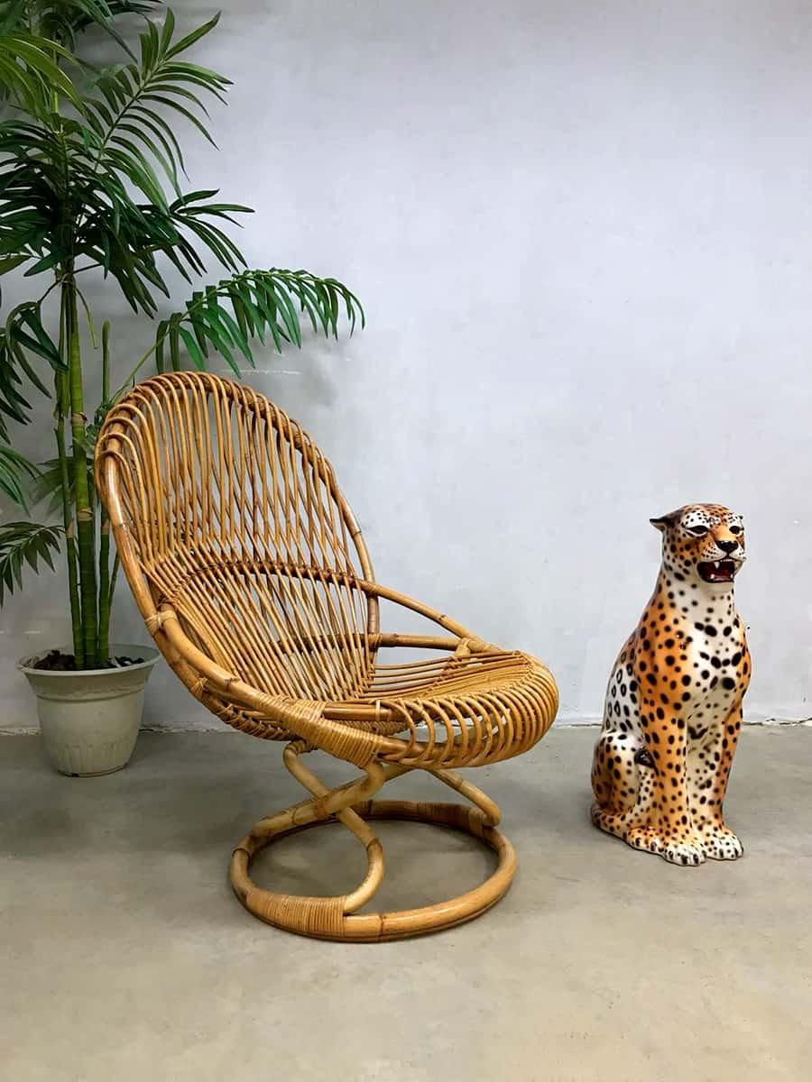 vintage sessel aus korbgeflecht von giovanni travasa f r pierantonio bonacina bei pamono kaufen. Black Bedroom Furniture Sets. Home Design Ideas