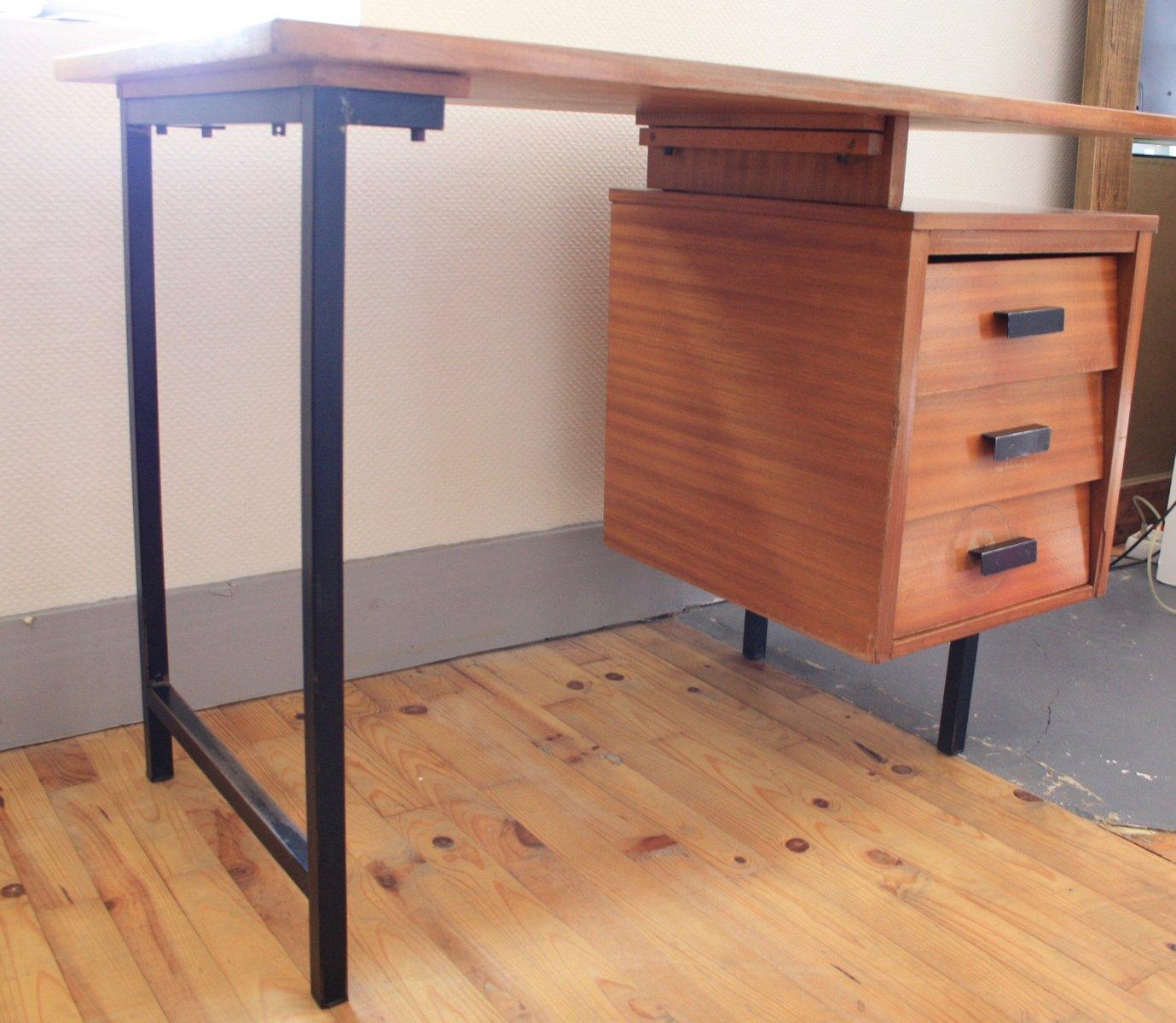 schreibtisch von pierre paulin f r thonet 1950er bei pamono kaufen. Black Bedroom Furniture Sets. Home Design Ideas