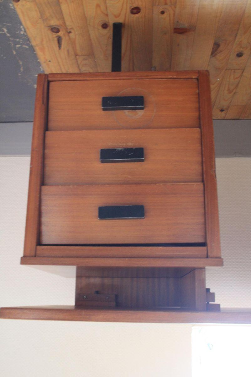 bureau par pierre paulin pour thonet 1950s en vente sur pamono. Black Bedroom Furniture Sets. Home Design Ideas