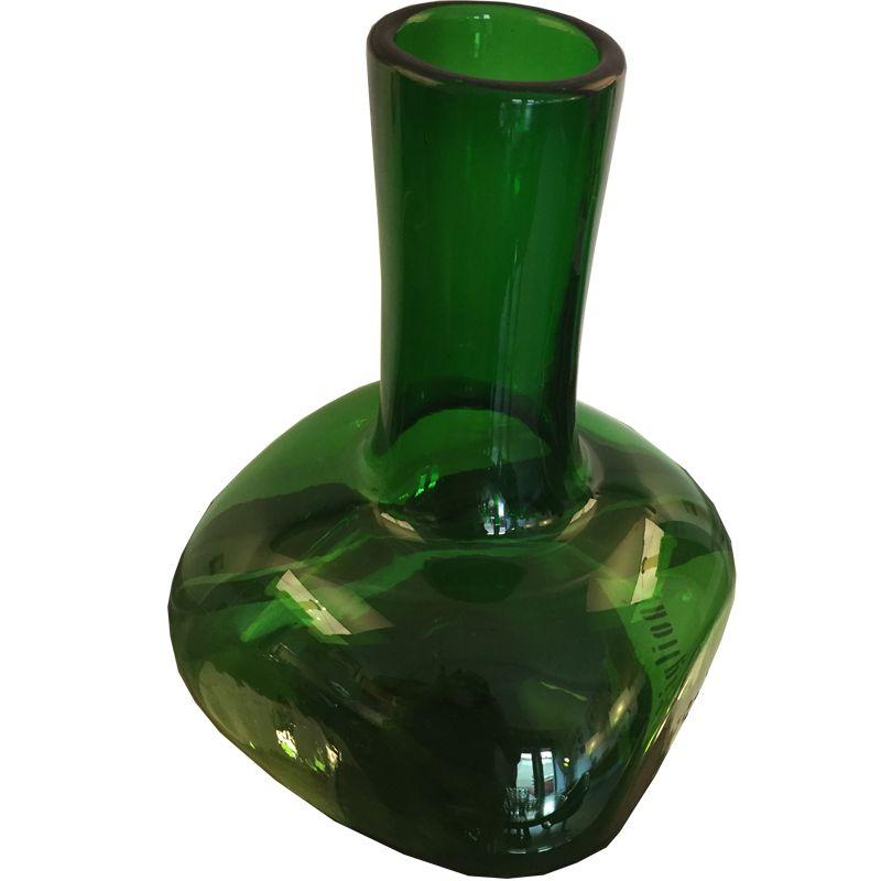 Vintage Green Empoli Art Glass Vase For Sale At Pamono