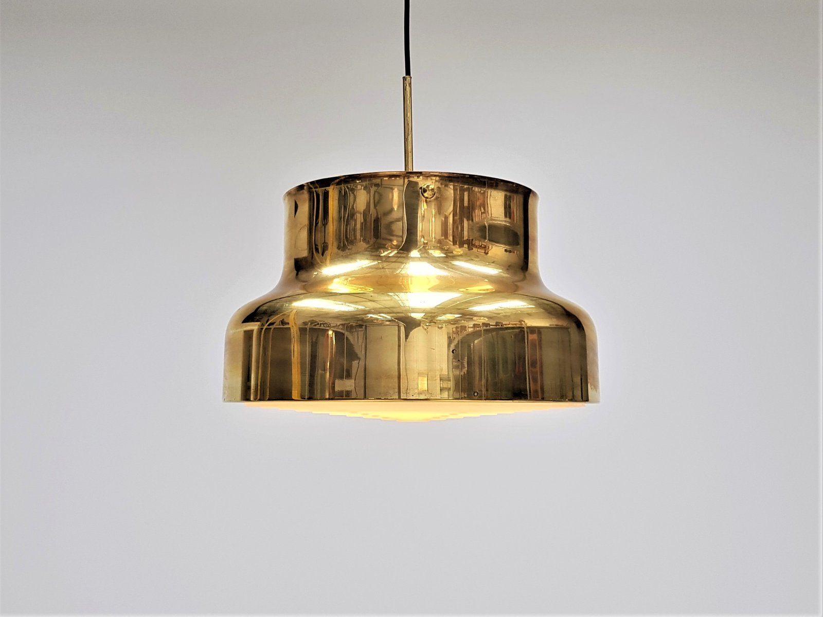 Large bumling brass ceiling pendant by anders pehrson for atelj large bumling brass ceiling pendant by anders pehrson for atelj lyktan 1970s aloadofball Images