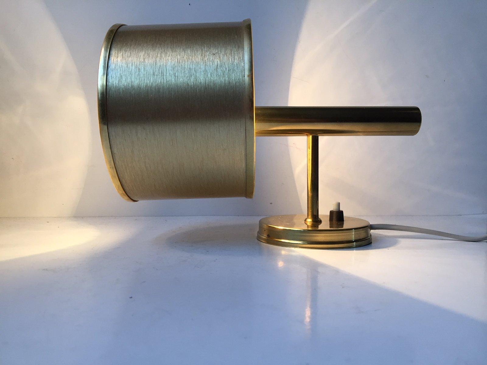 Dänische Vintage Messing Wandlampe von Svend Mejlstrøm für Mejlstrøm B...
