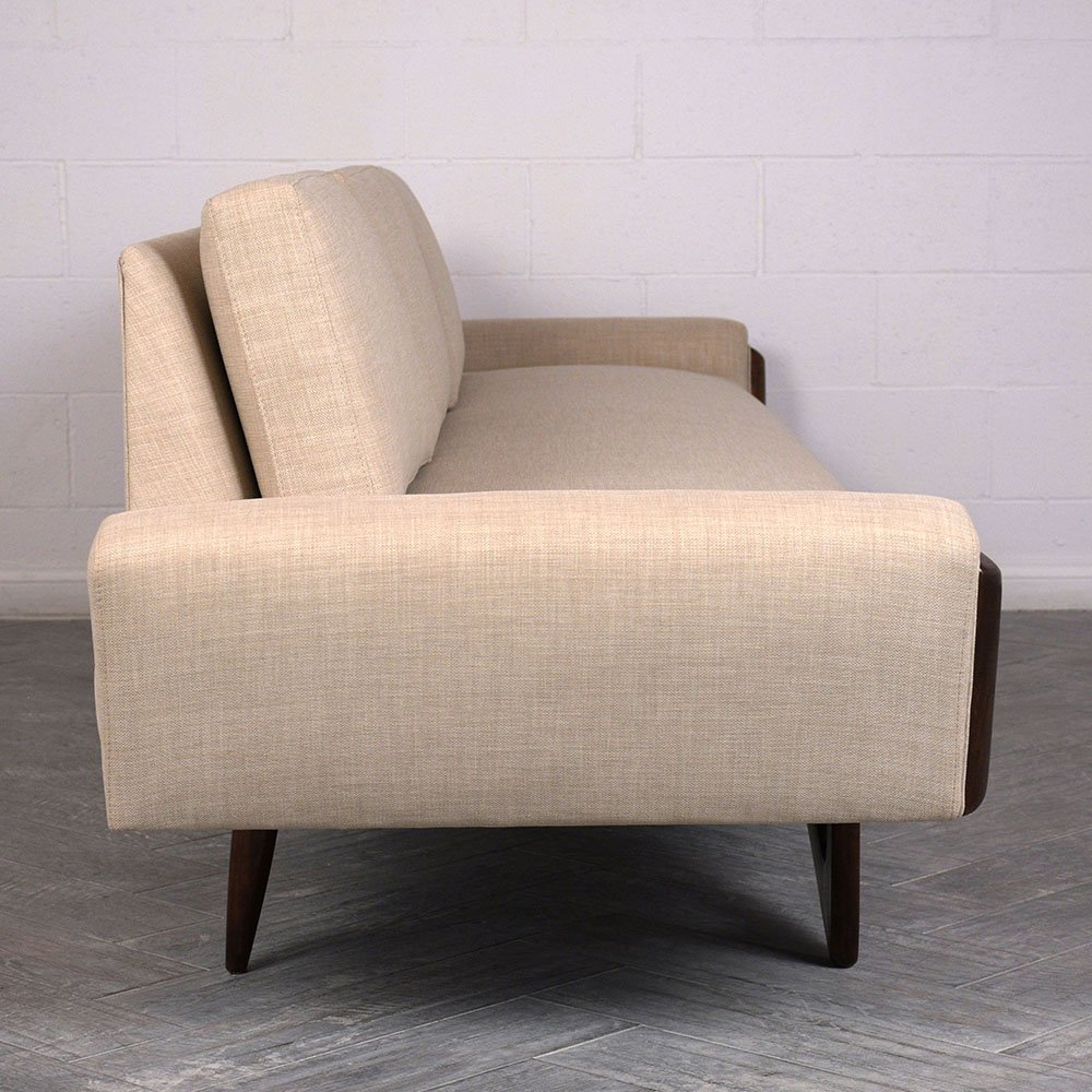 Mid Century Gondola Sofa: Mid-Century Gondola Sofa By Adrian Pearsall, 1960s For