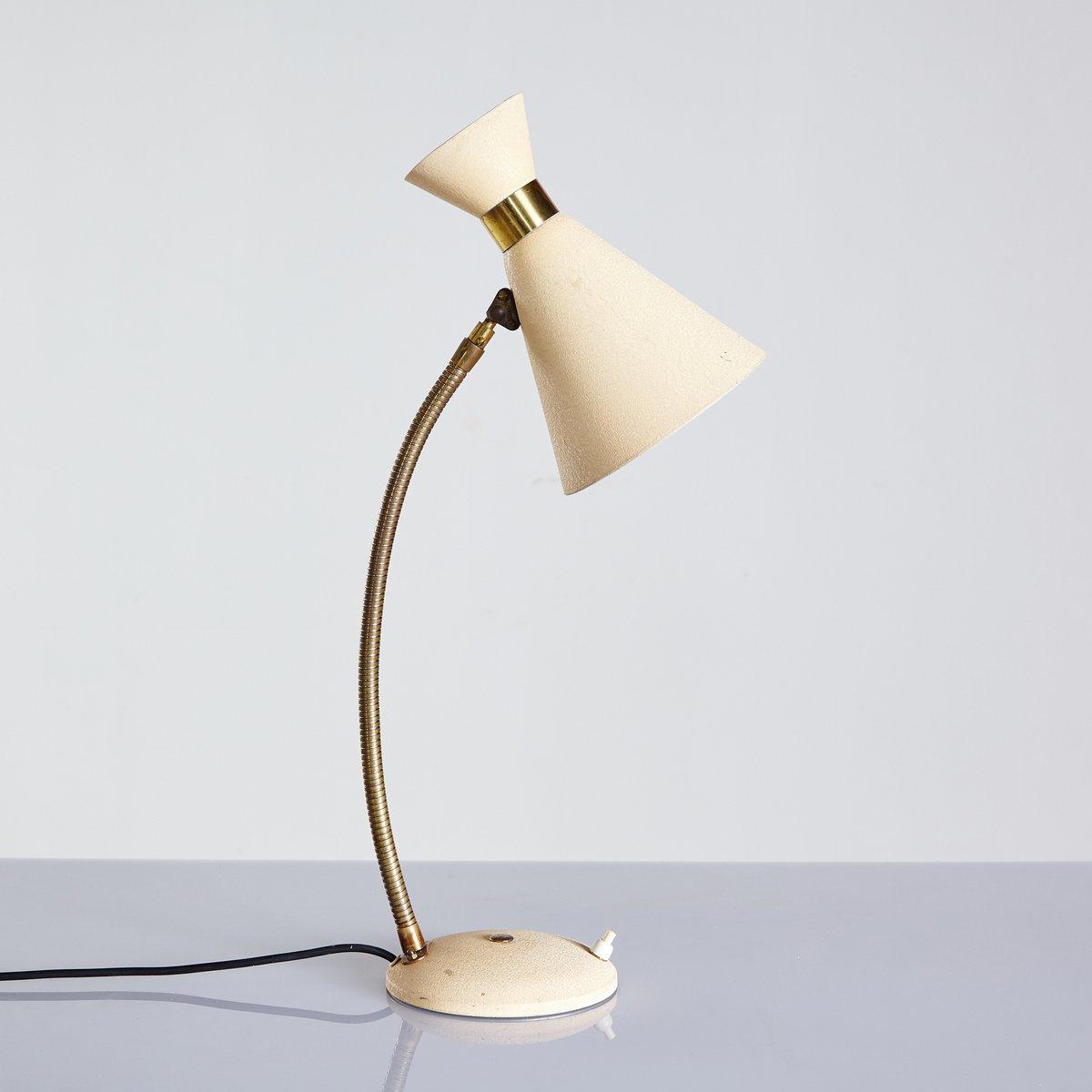 Verstellbare Tischlampe von Rupert Nikoll, 1950er