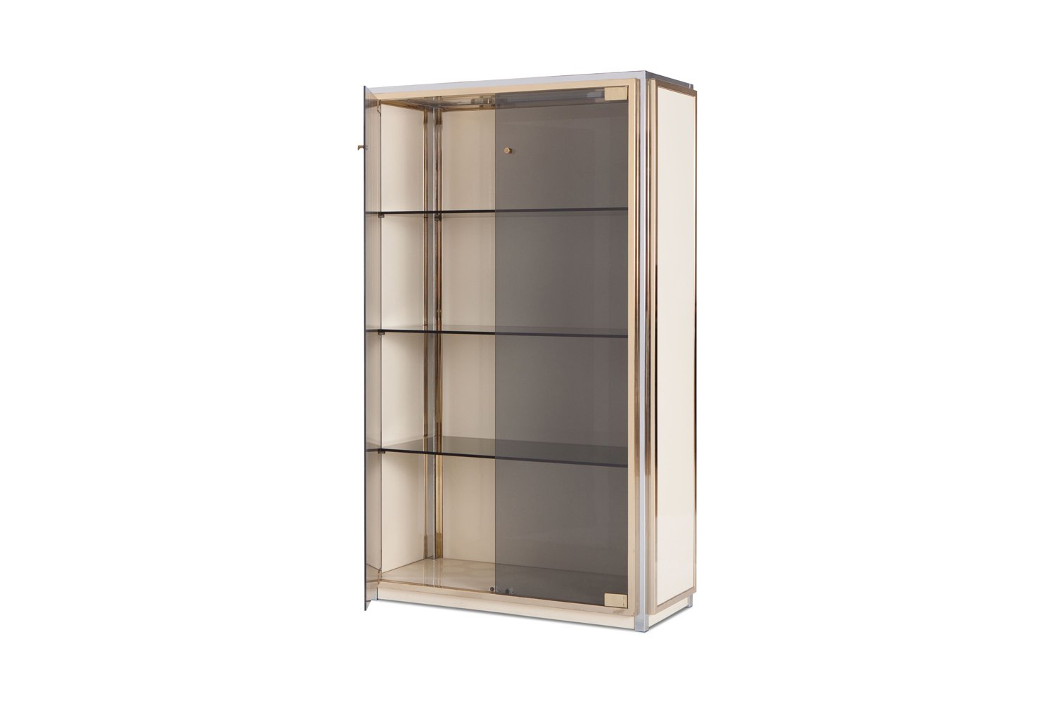 Showcase With Glass Doors By Renato Zevi 1970s For Sale At Pamono