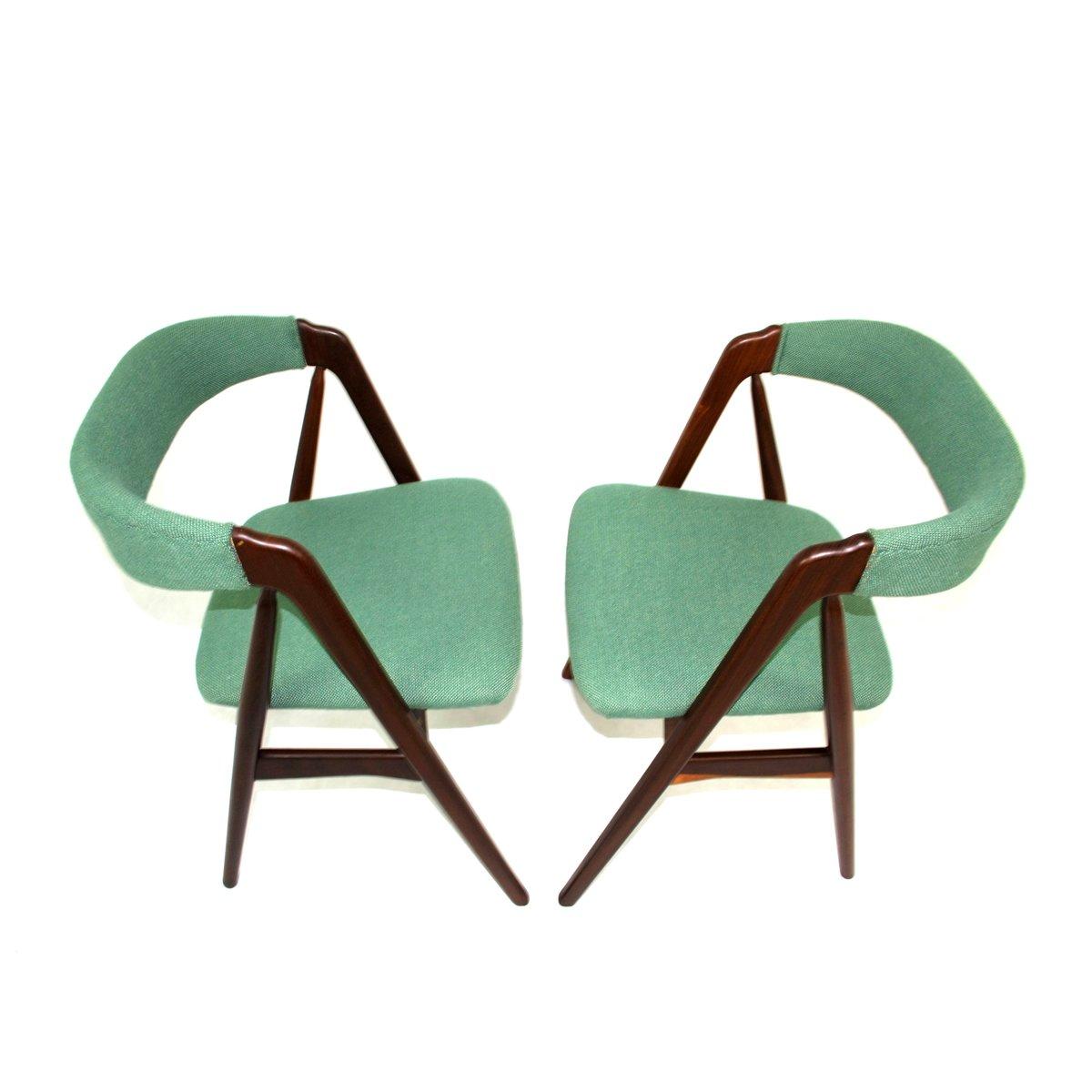 d nische st hle von kai kristiansen f r schou andersen 1960er 2er set bei pamono kaufen. Black Bedroom Furniture Sets. Home Design Ideas