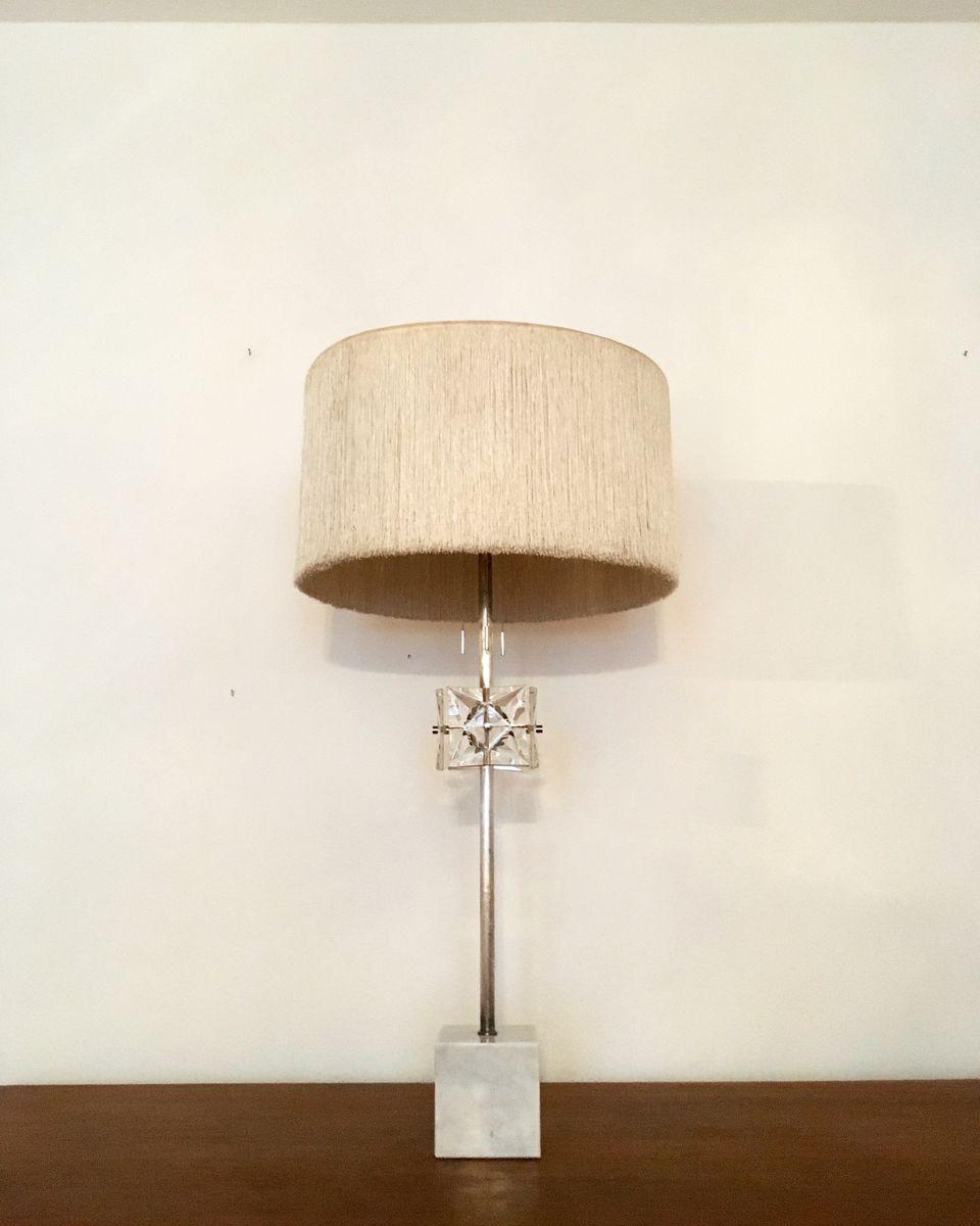 Große Hollywood Regency Tischlampe, 1960er