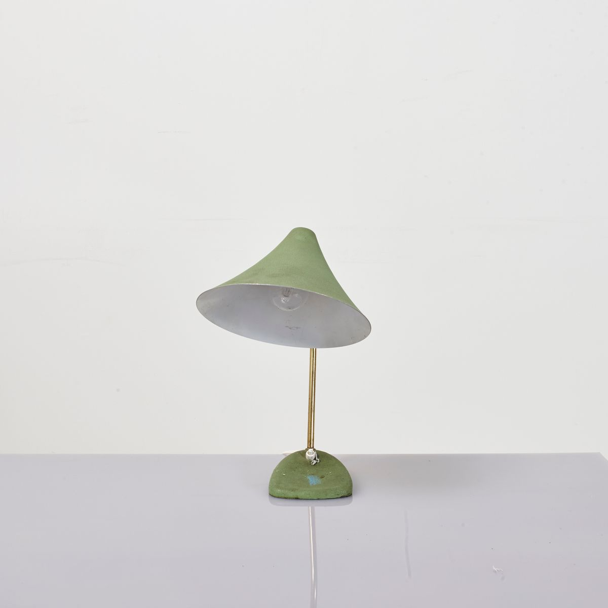 Olive Green Table Lamp Migrant Resource Network