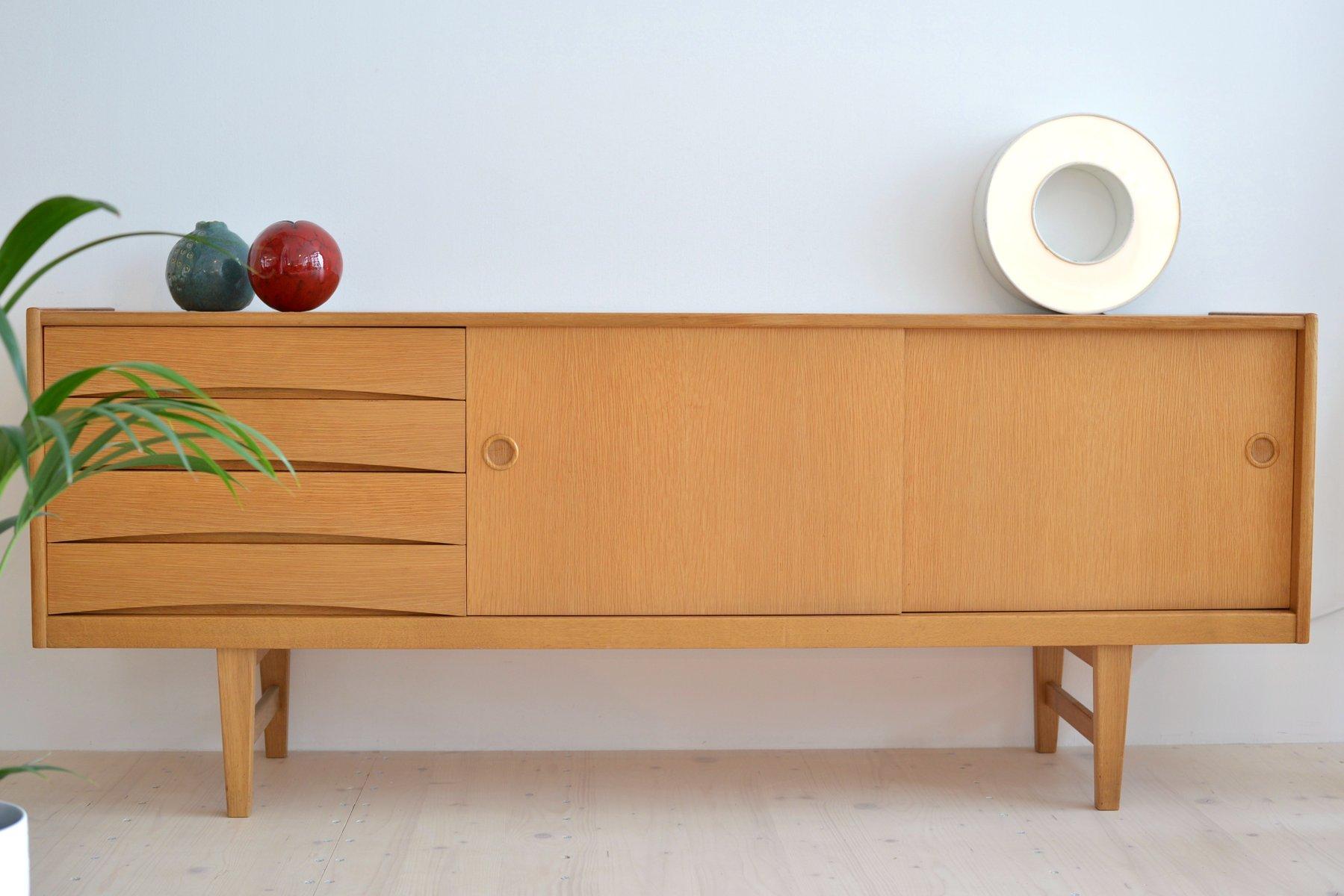 Credenza Billy Ikea : Oak sideboard by erik wørts for ikea s sale at pamono