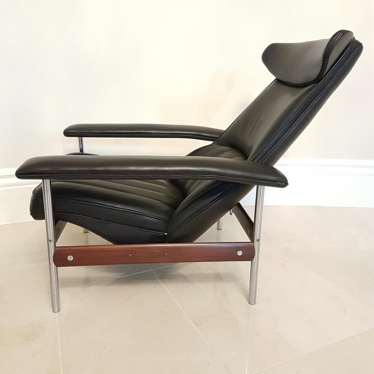 Mid Century Recliner Amp Footstool By Sven Ivar Dysthe For