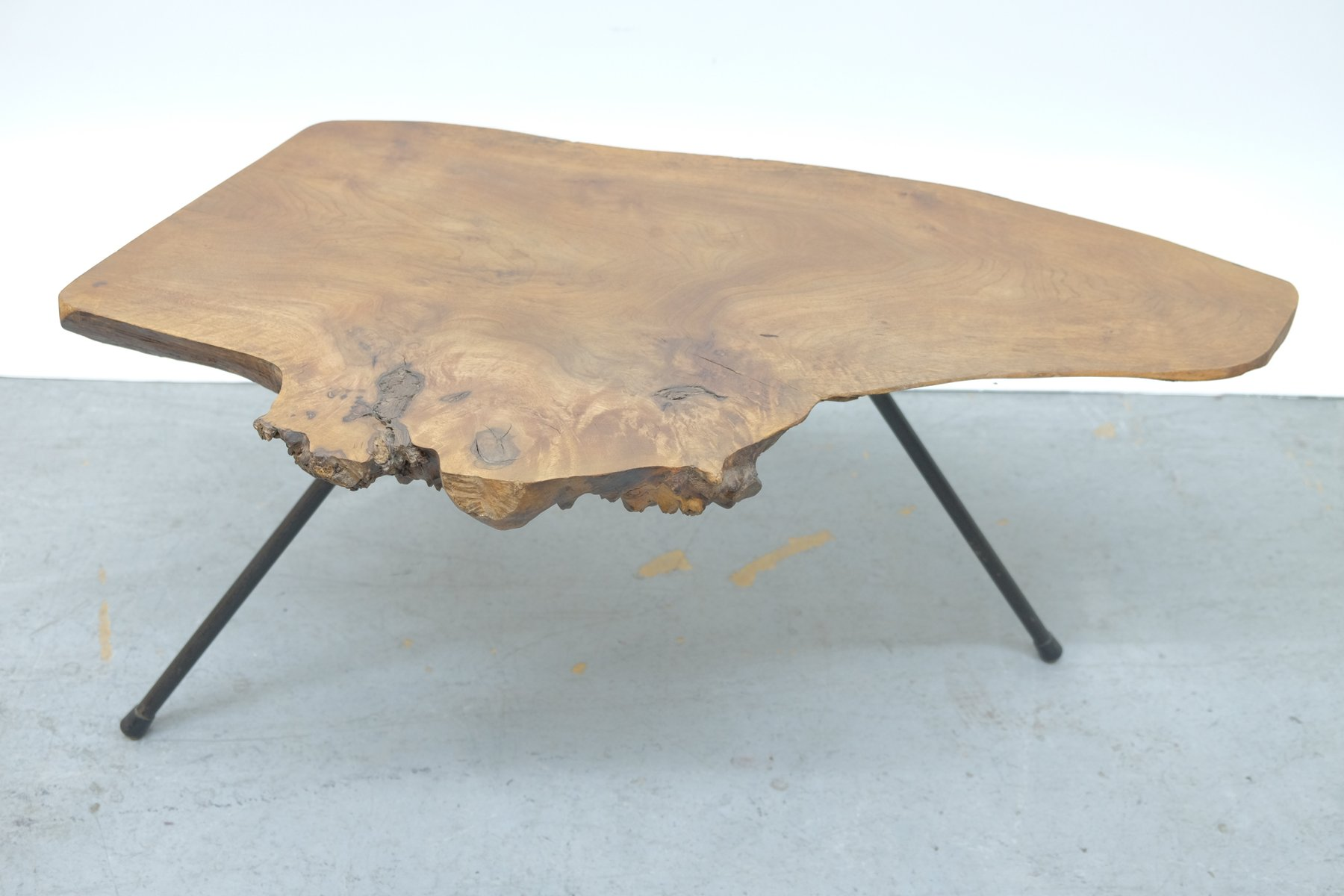 Mid Century Viennese Tree Bark Coffee Table 1950s