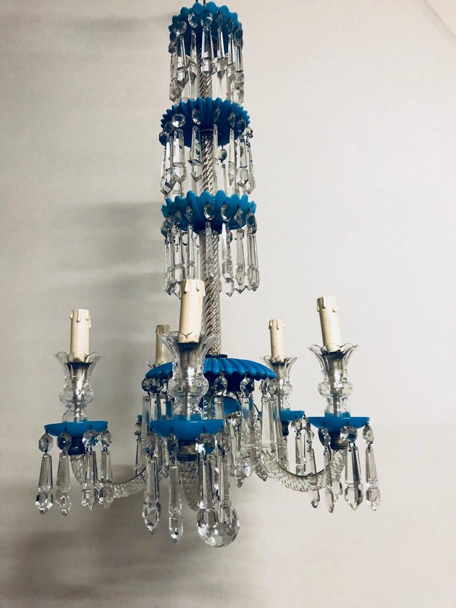 Vintage venetian murano glass chandelier for sale at pamono vintage venetian murano glass chandelier 13 82200 aloadofball Images