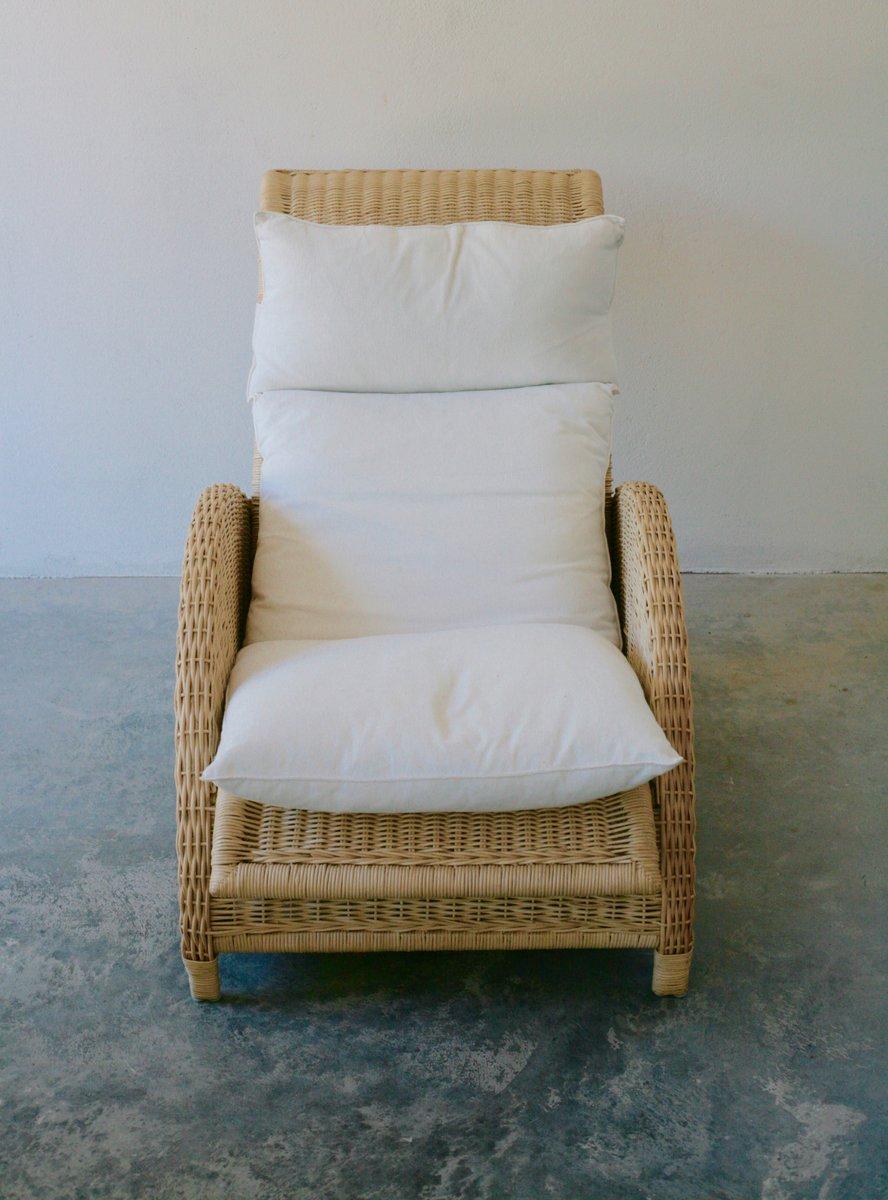 paris rattan sessel von arne jacobsen 1985 bei pamono kaufen. Black Bedroom Furniture Sets. Home Design Ideas