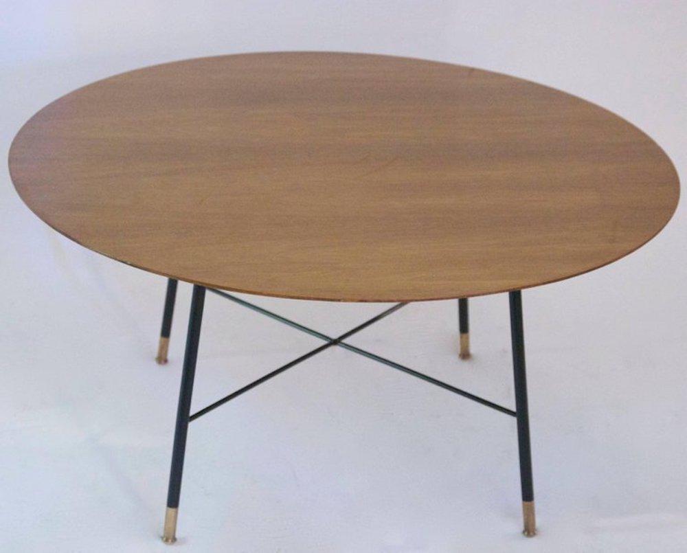 Attraktiv Couchtisch Holzplatte Referenz Von Mit Von Ico Parisi, 1960er