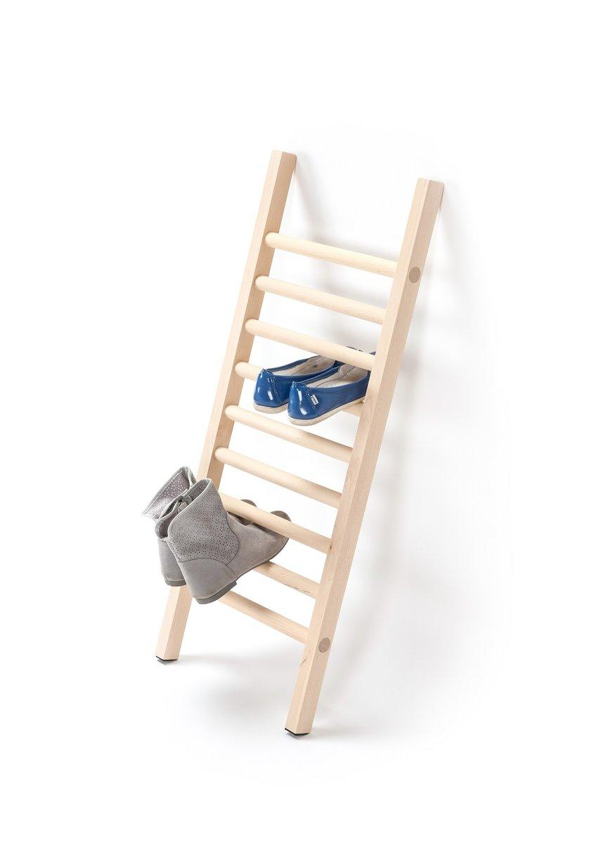 step up mini schuhregal von tore bleuz f r emko bei pamono kaufen. Black Bedroom Furniture Sets. Home Design Ideas