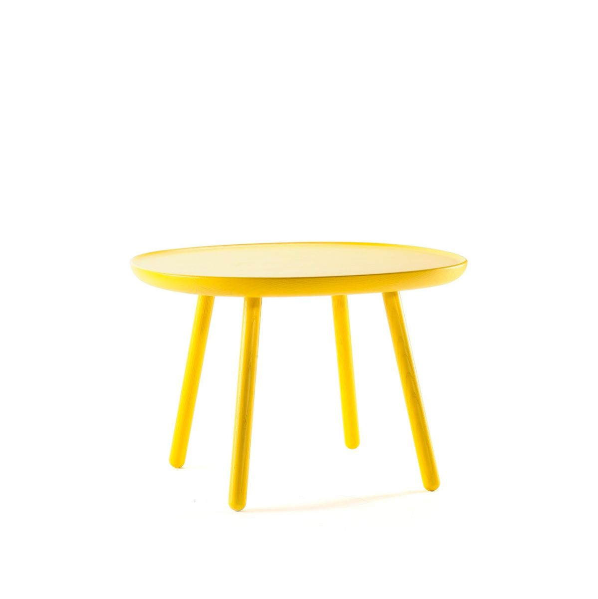 Yellow naïve side table d64 by etc etc for emko