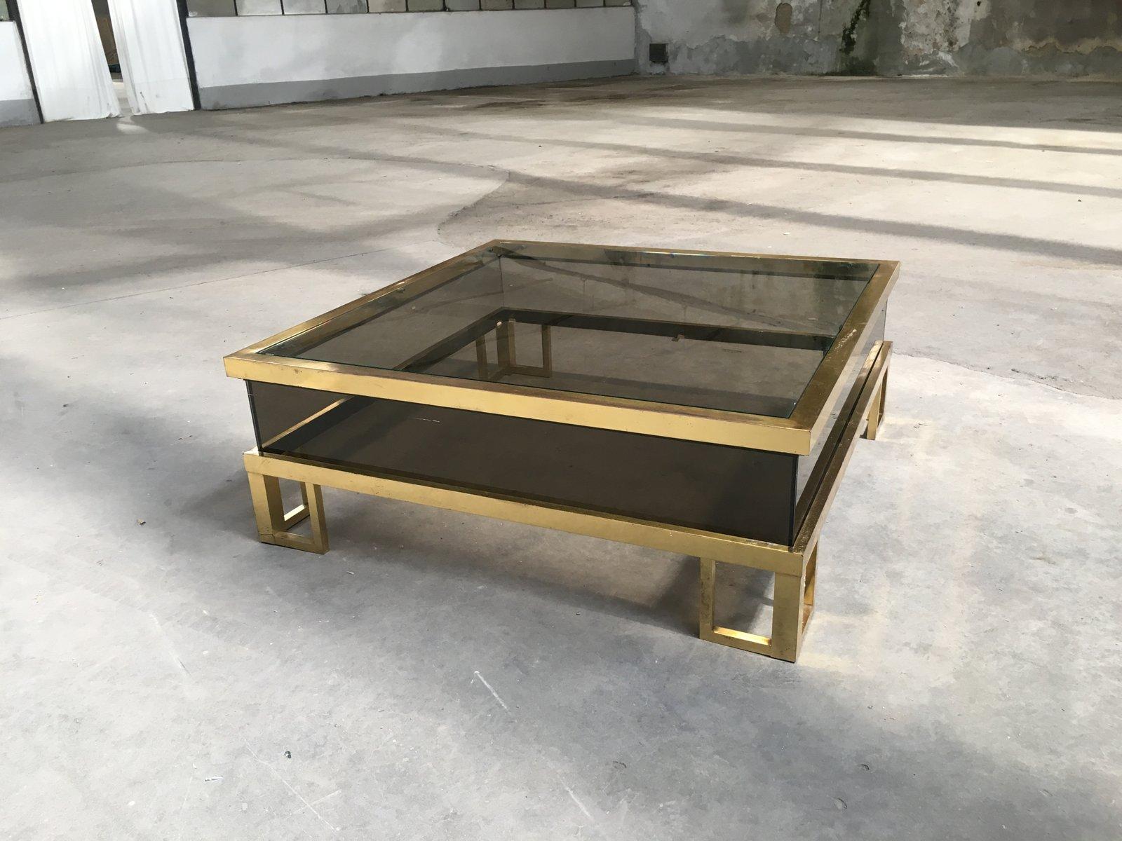 Table basse coulissante interesting meuble tv design et sa table basse coulissante crations air - Meuble tv avec plateau coulissant ...