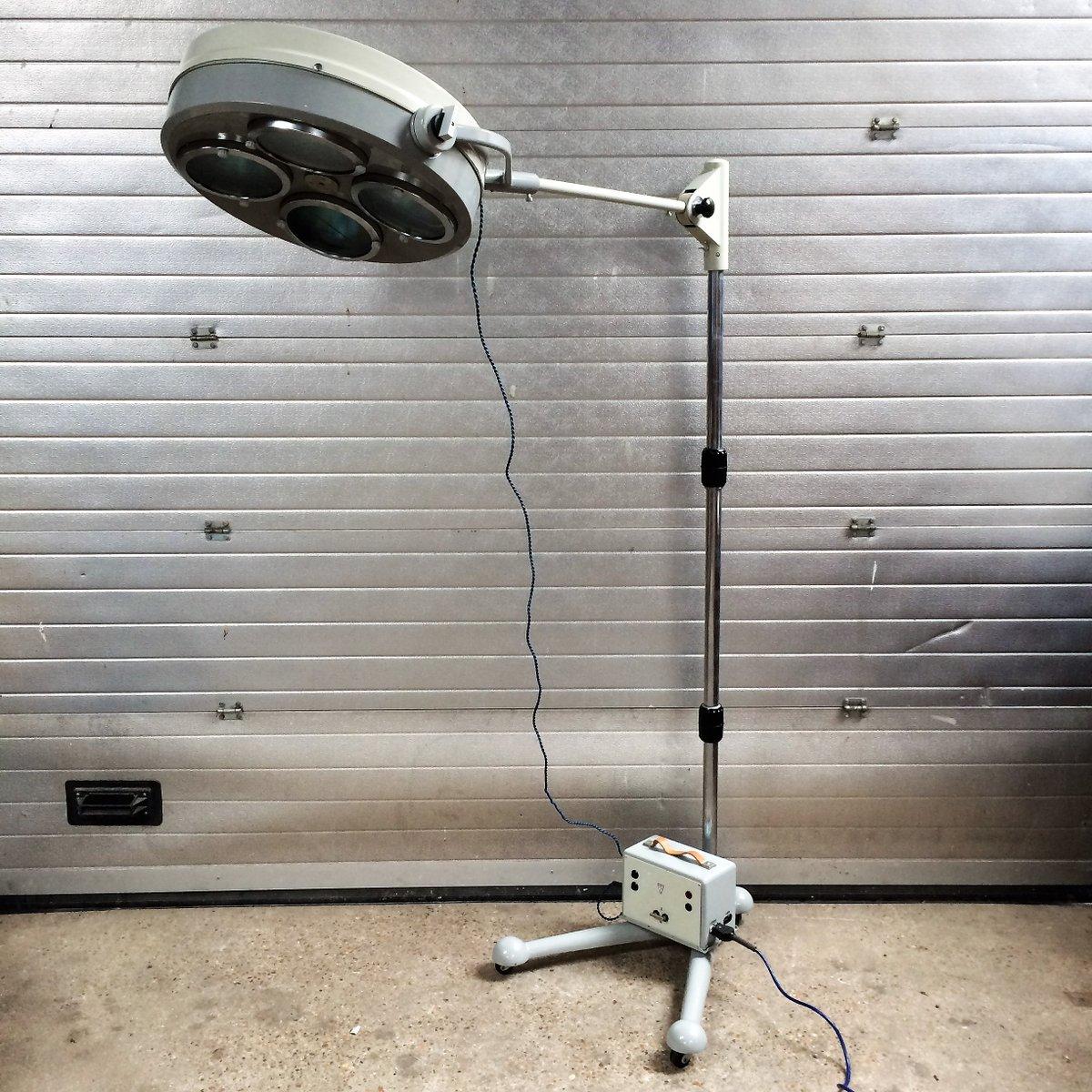 Industrielle Stehlampe, 1960er