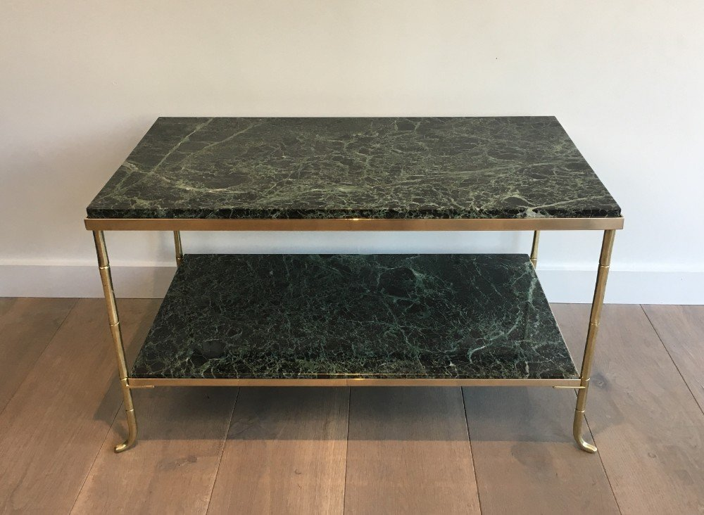 Br And Marble Coffee Table Design Ideas