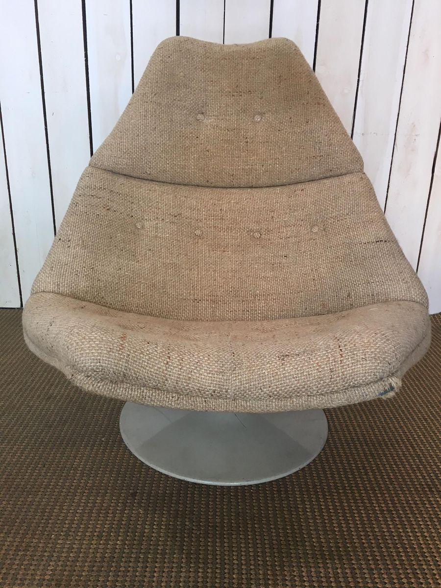Drehbarer Modell F591 Sessel von Geoffrey Harcourt für Artifort, 1970e...