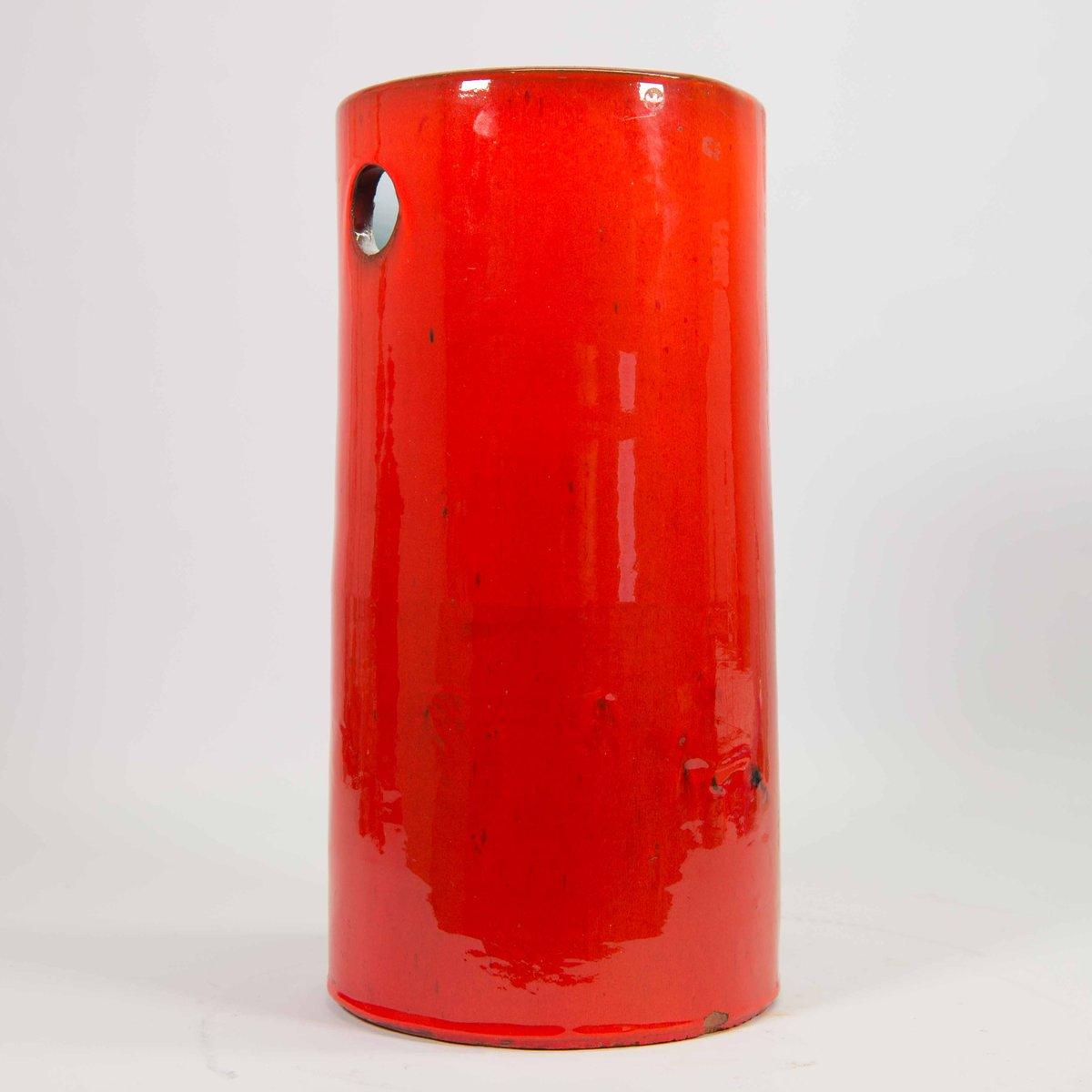 Glasierter Keramik Schirmständer von Rogier Van...