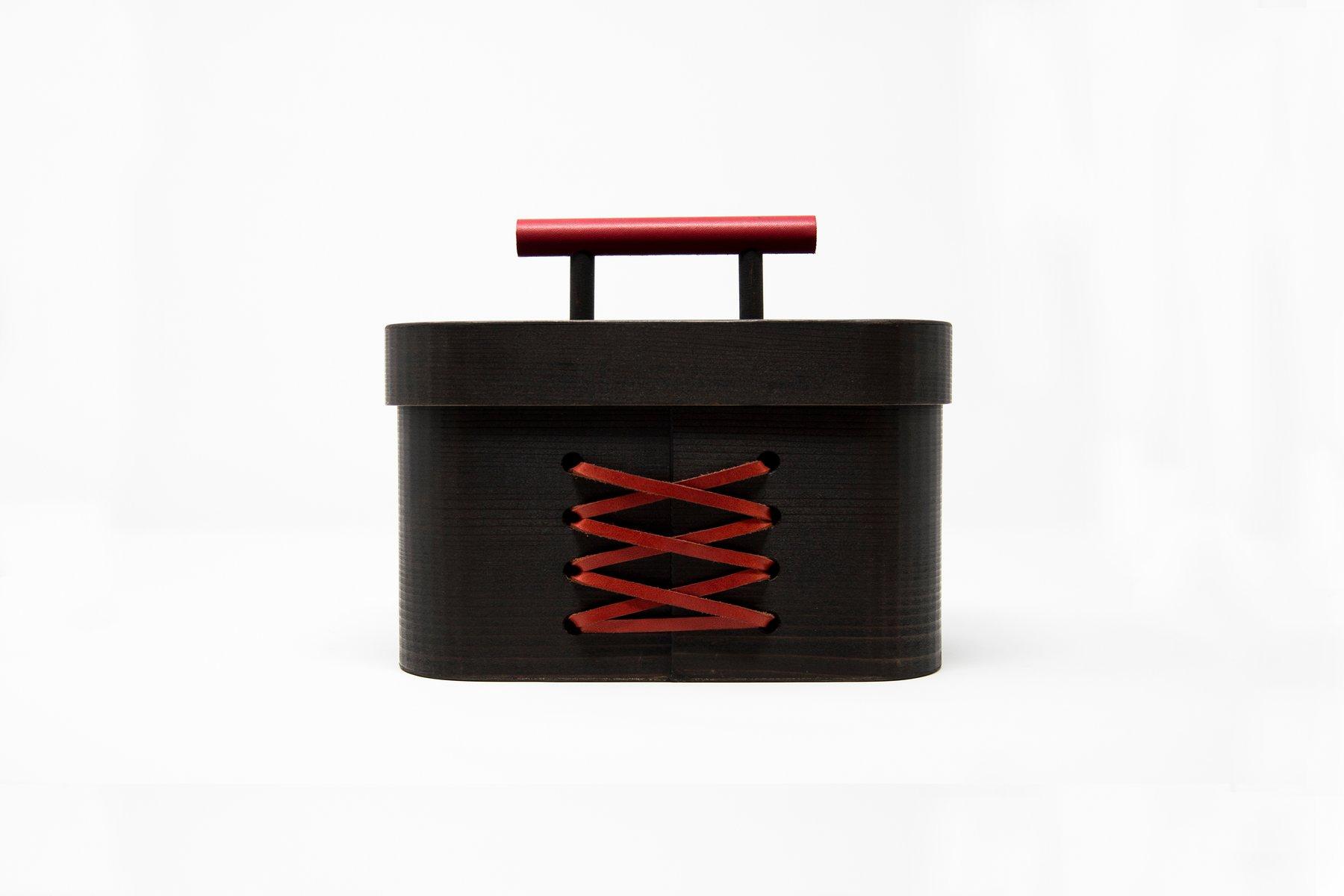Blackbeauty Hinoki Cypress Jewellery Box von So...