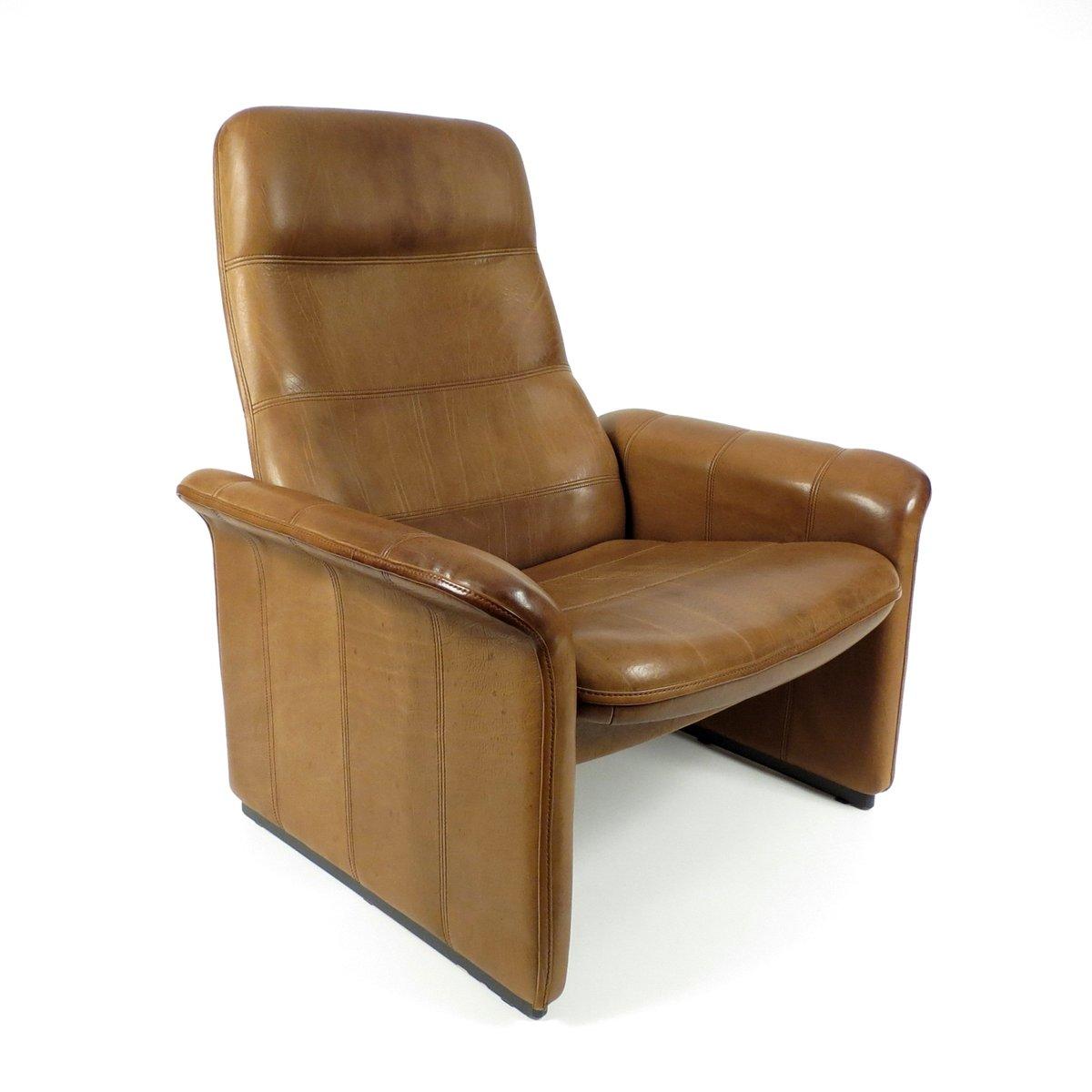 b ffelleder sessel von de sede 1970er bei pamono kaufen. Black Bedroom Furniture Sets. Home Design Ideas