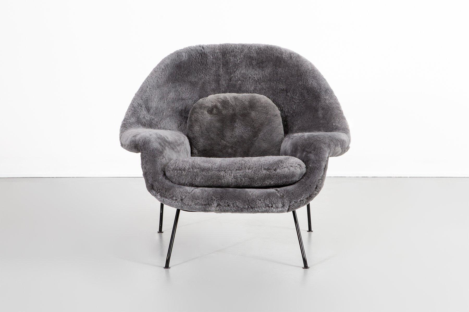 Vintage Womb Chairs von Eero Saarinen für Knoll, 2er Set