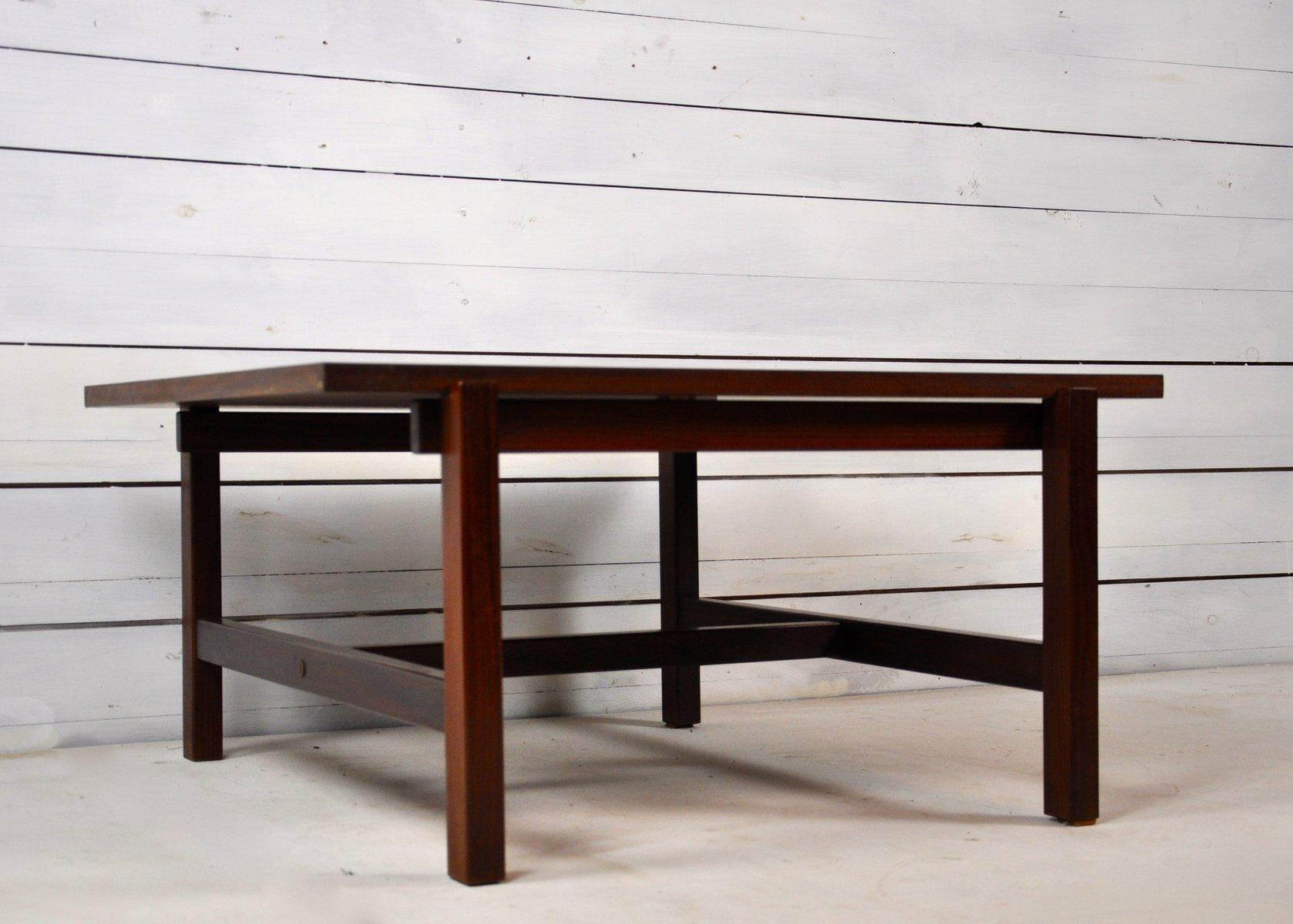 vintage teak resopal couchtisch mit drehbarer platte von pastoe bei pamono kaufen. Black Bedroom Furniture Sets. Home Design Ideas