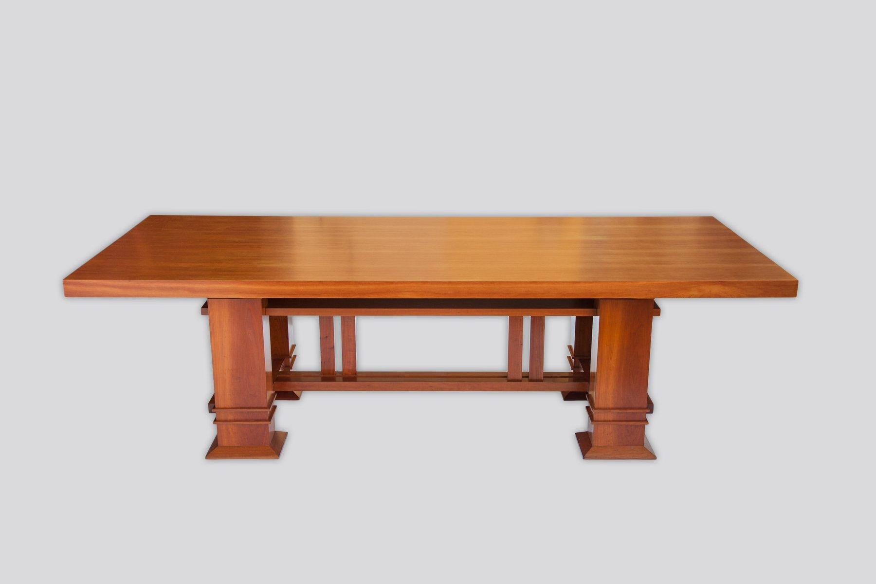 Allen 605 Tisch aus Kirschholz von Frank Lloyd Wright für Cassina, 198...
