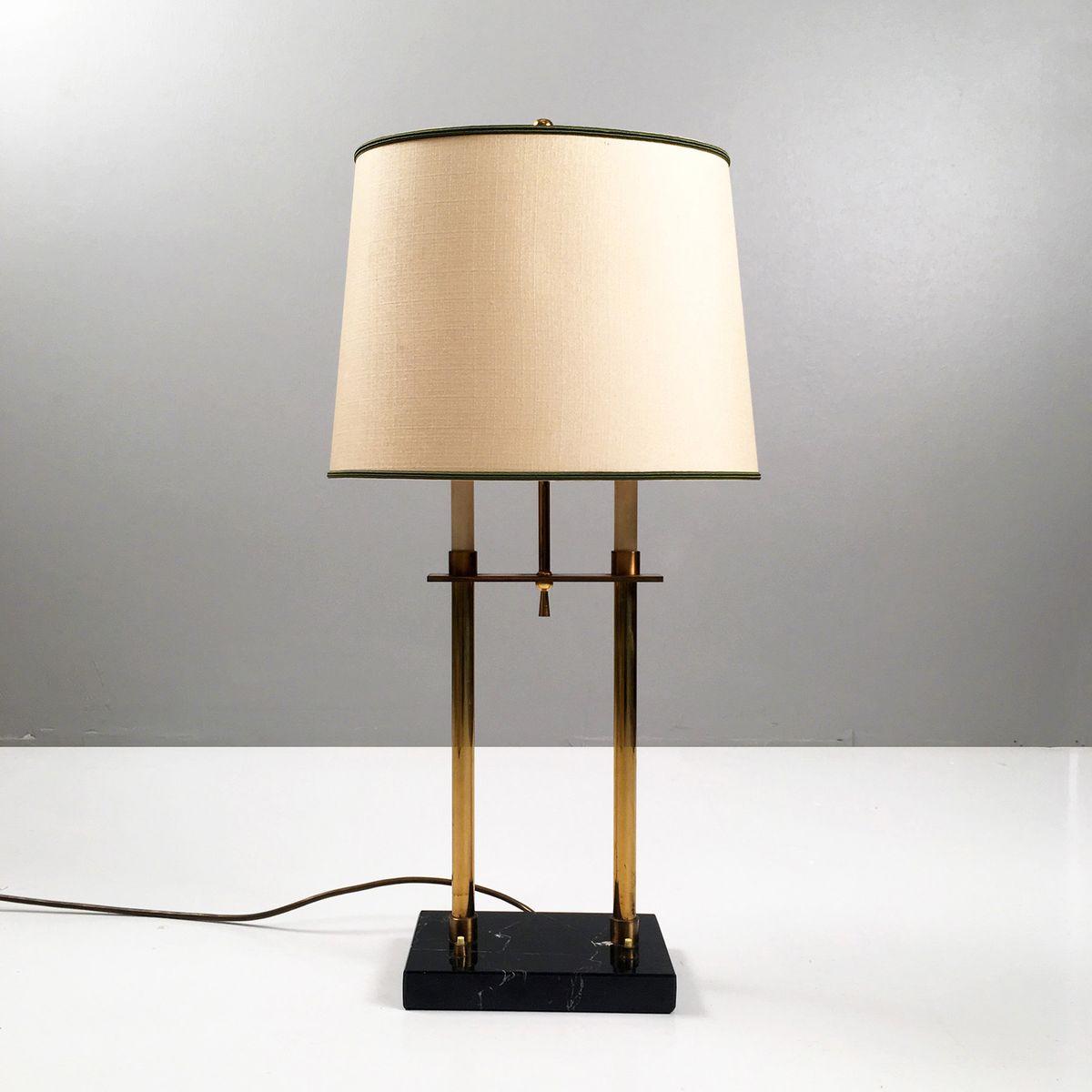 Deutsche Tischlampe, 1950er