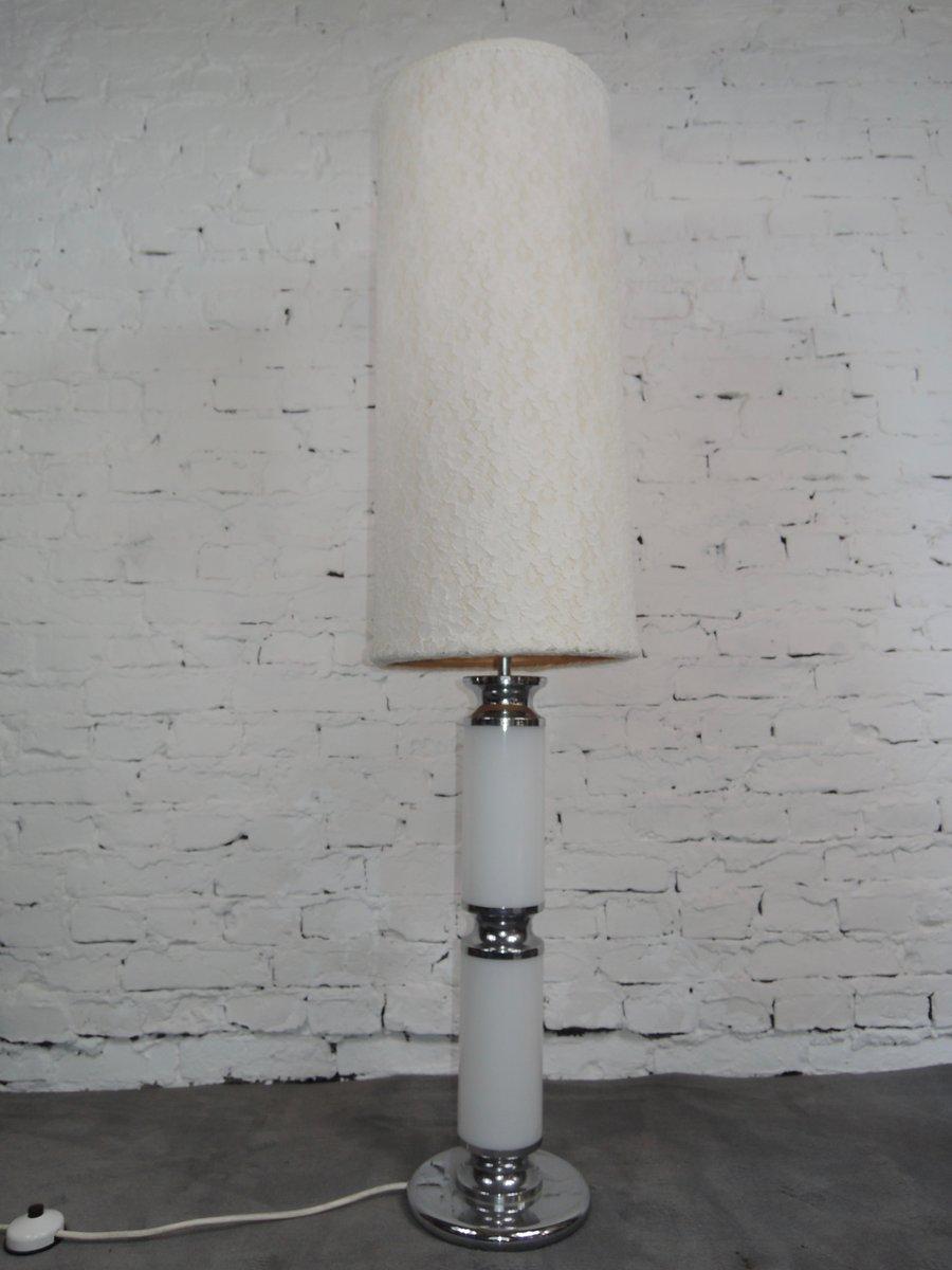 Weiße Stehlampe von Sölken, 1970er