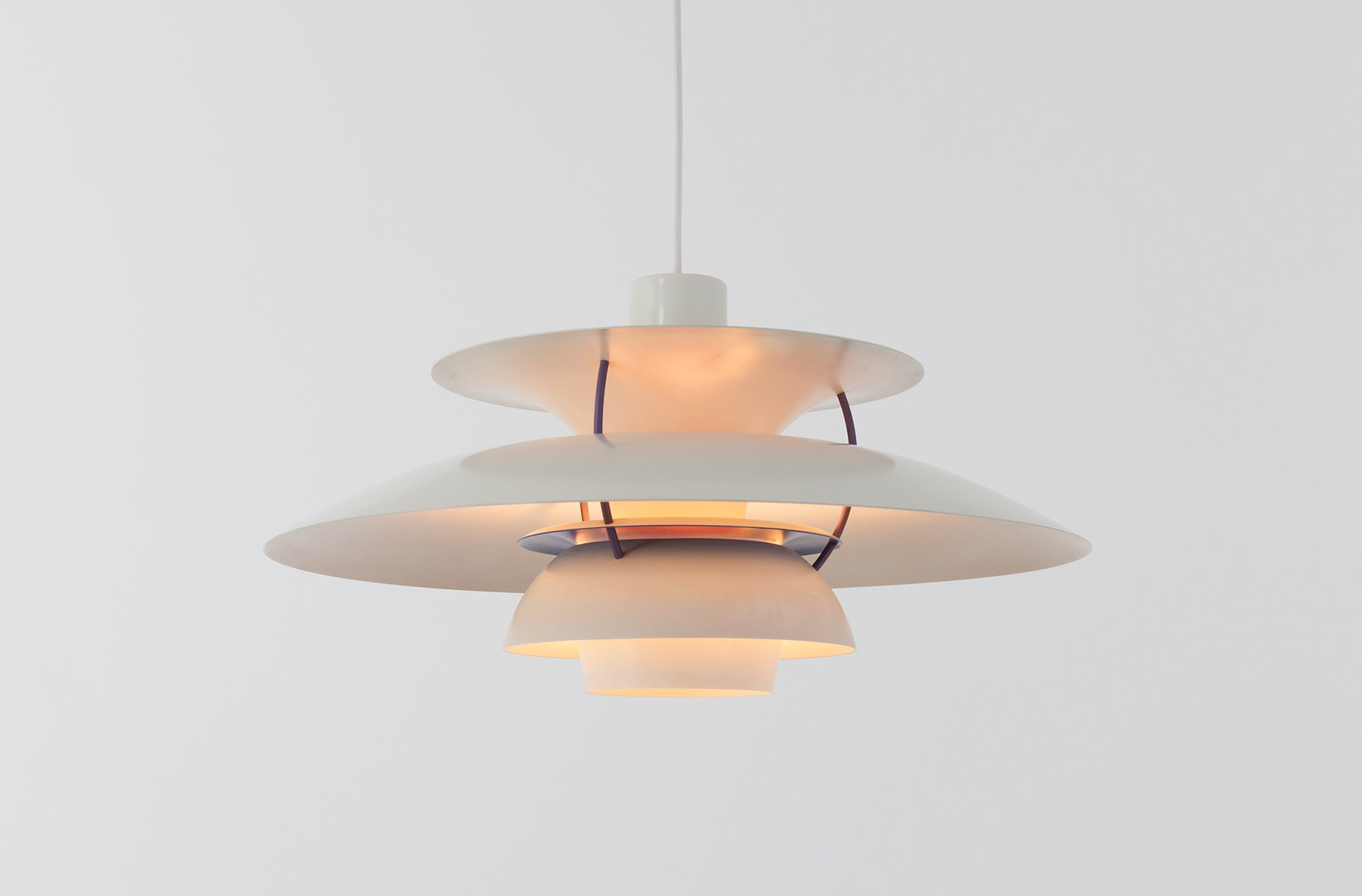 Vintage Ph 5 Pendant Lamp By Poul Henningsen For Louis Poulsen