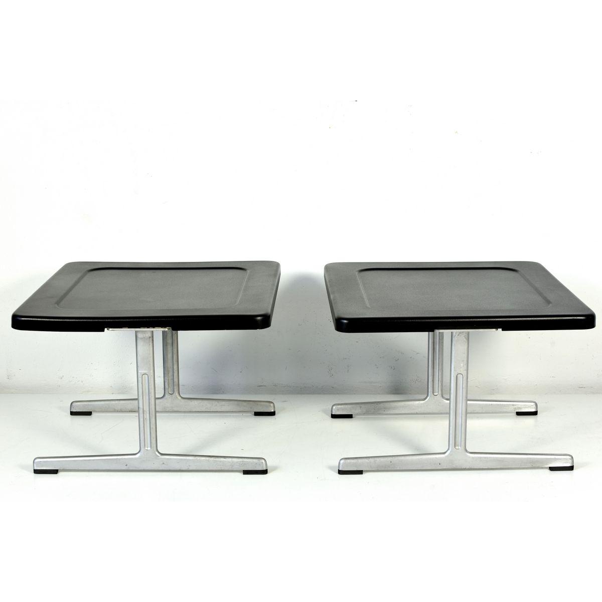 601 beistelltisch von dieter rams f r vits 1960er bei pamono kaufen. Black Bedroom Furniture Sets. Home Design Ideas