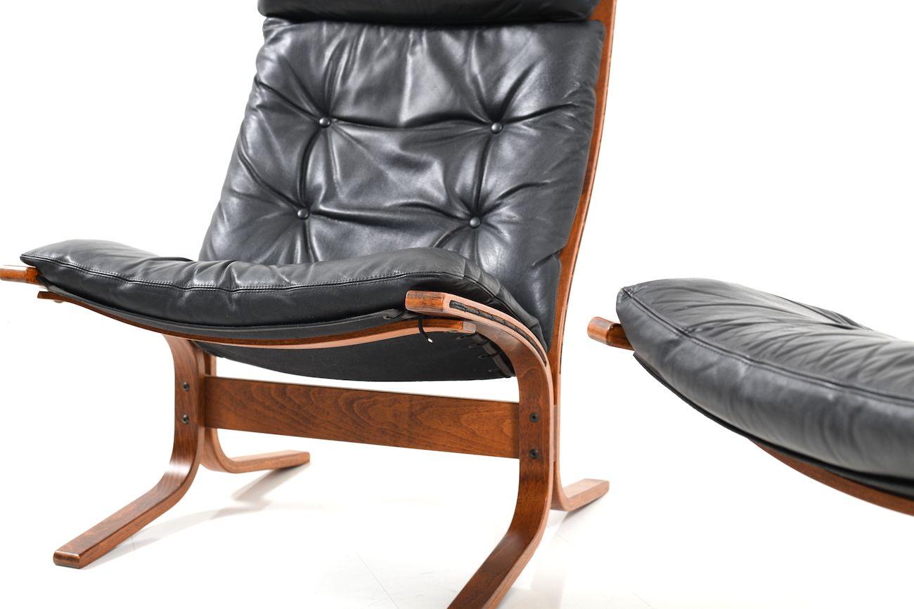 sessel mit hoher lehne von ingmar relling f r westnofa 1970er 2er set bei pamono kaufen. Black Bedroom Furniture Sets. Home Design Ideas