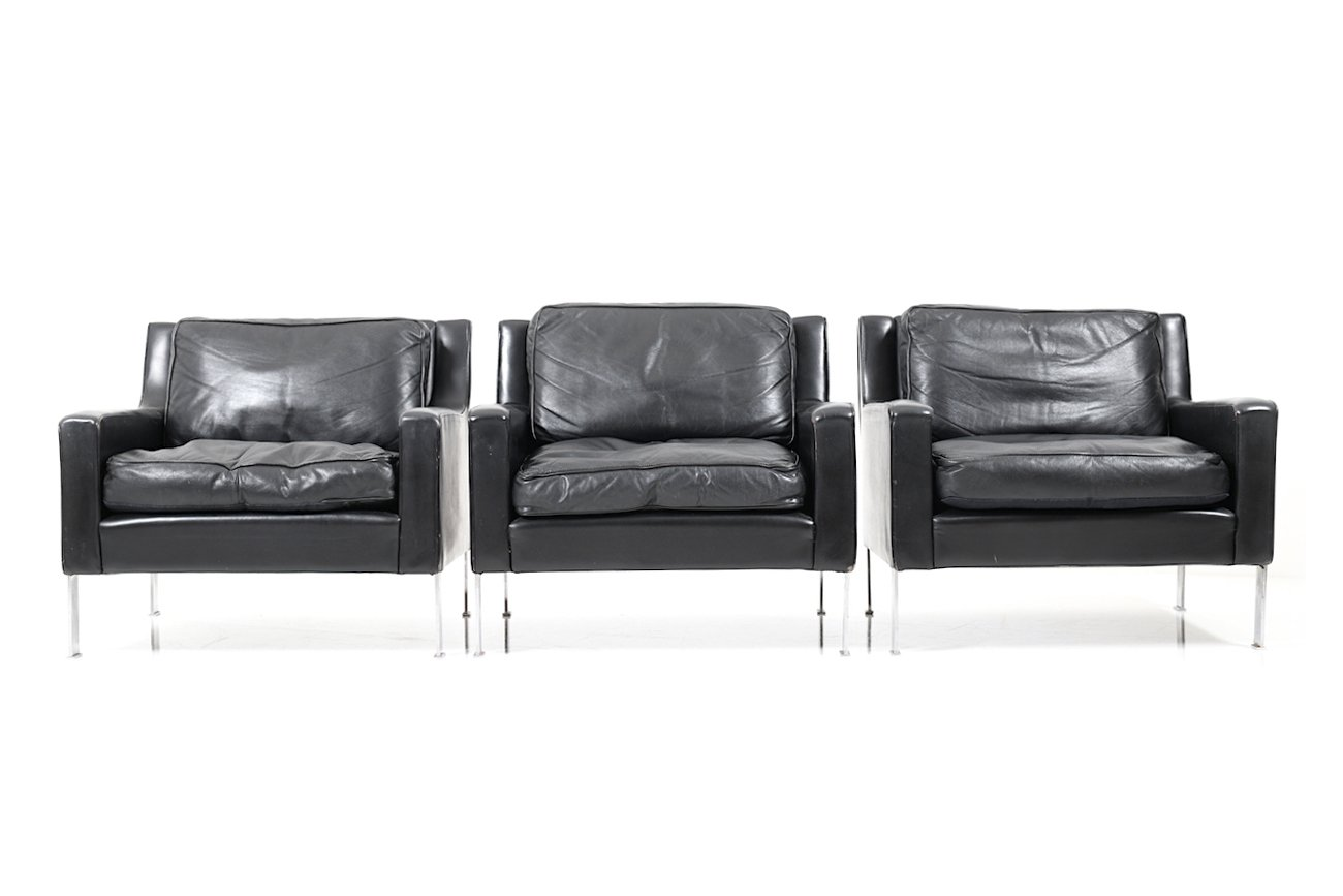 3 sitzer sofa und 3 sessel von tecta 1960er bei pamono kaufen. Black Bedroom Furniture Sets. Home Design Ideas