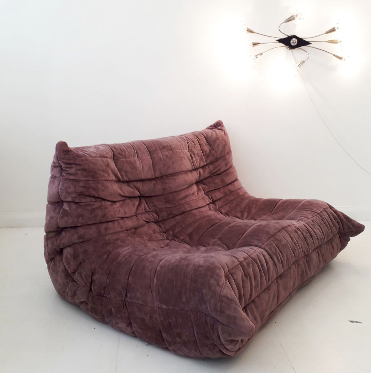 Two Seater Togo Sofa By Michel Ducaroy For Ligne Roset 1980s