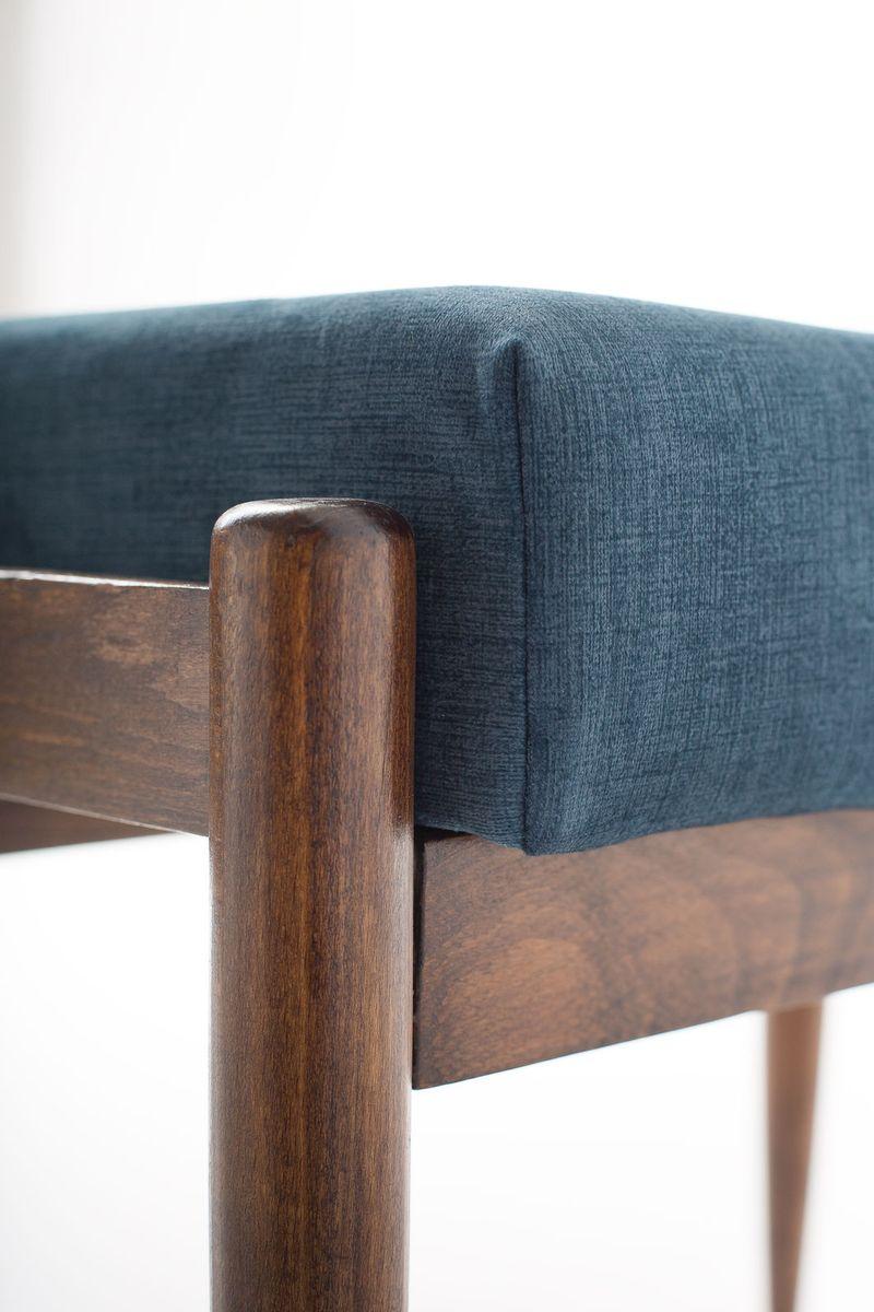gfm 64 sessel mit fu st tze von edmund homa f r go cici ska fabryka mebli 1960er bei pamono kaufen. Black Bedroom Furniture Sets. Home Design Ideas