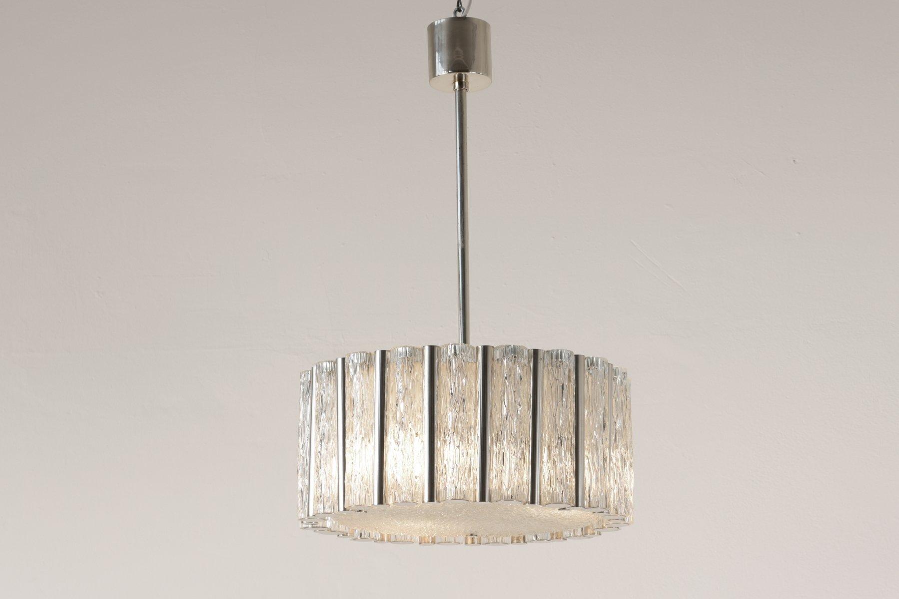 Lampade In Vetro A Sospensione : Lampada a sospensione in vetro di murano di kaiser leuchten anni