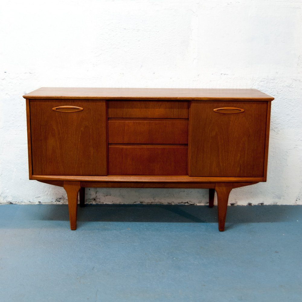 Mid Century Sideboard With Sliding Doors From Jentique For Sale At