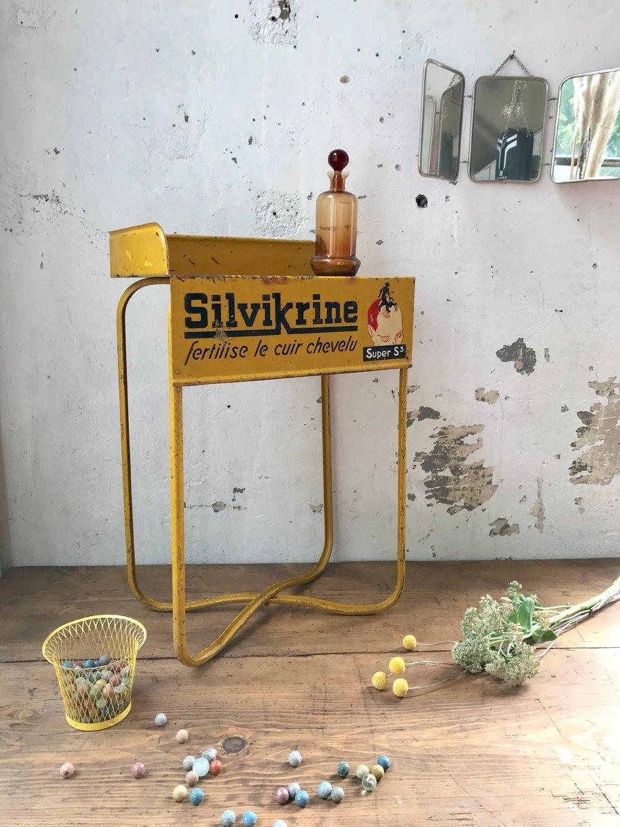 vintage silvikrine beistelltisch bei pamono kaufen. Black Bedroom Furniture Sets. Home Design Ideas