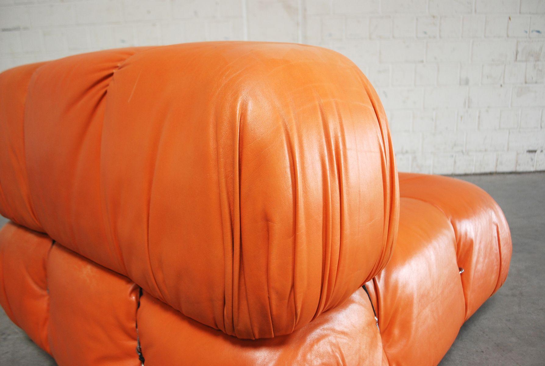 Camaleonda Modular Leather Sofa By Mario Bellini For C Amp B