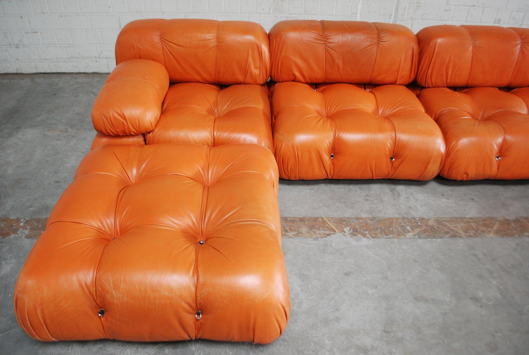 canap modulable camaleonda en cuir par mario bellini pour c b italia 1960s en vente sur pamono. Black Bedroom Furniture Sets. Home Design Ideas
